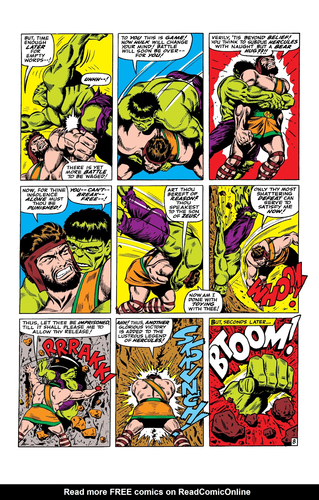 Read online Marvel Masterworks: The Incredible Hulk comic -  Issue # TPB 2 (Part 3) - 41