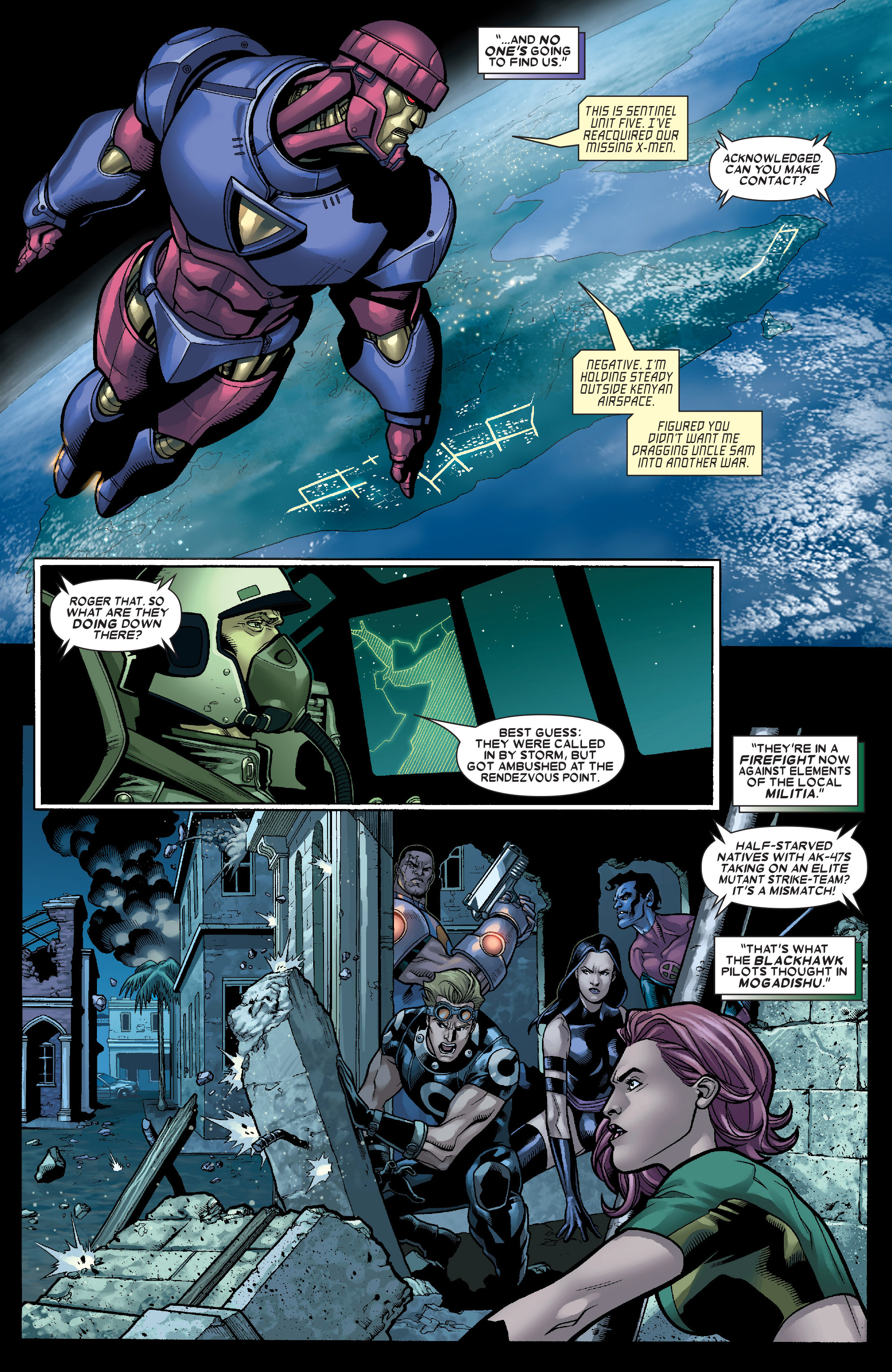 Read online Uncanny X-Men (1963) comic -  Issue # _Annual 1 (2006) - 7