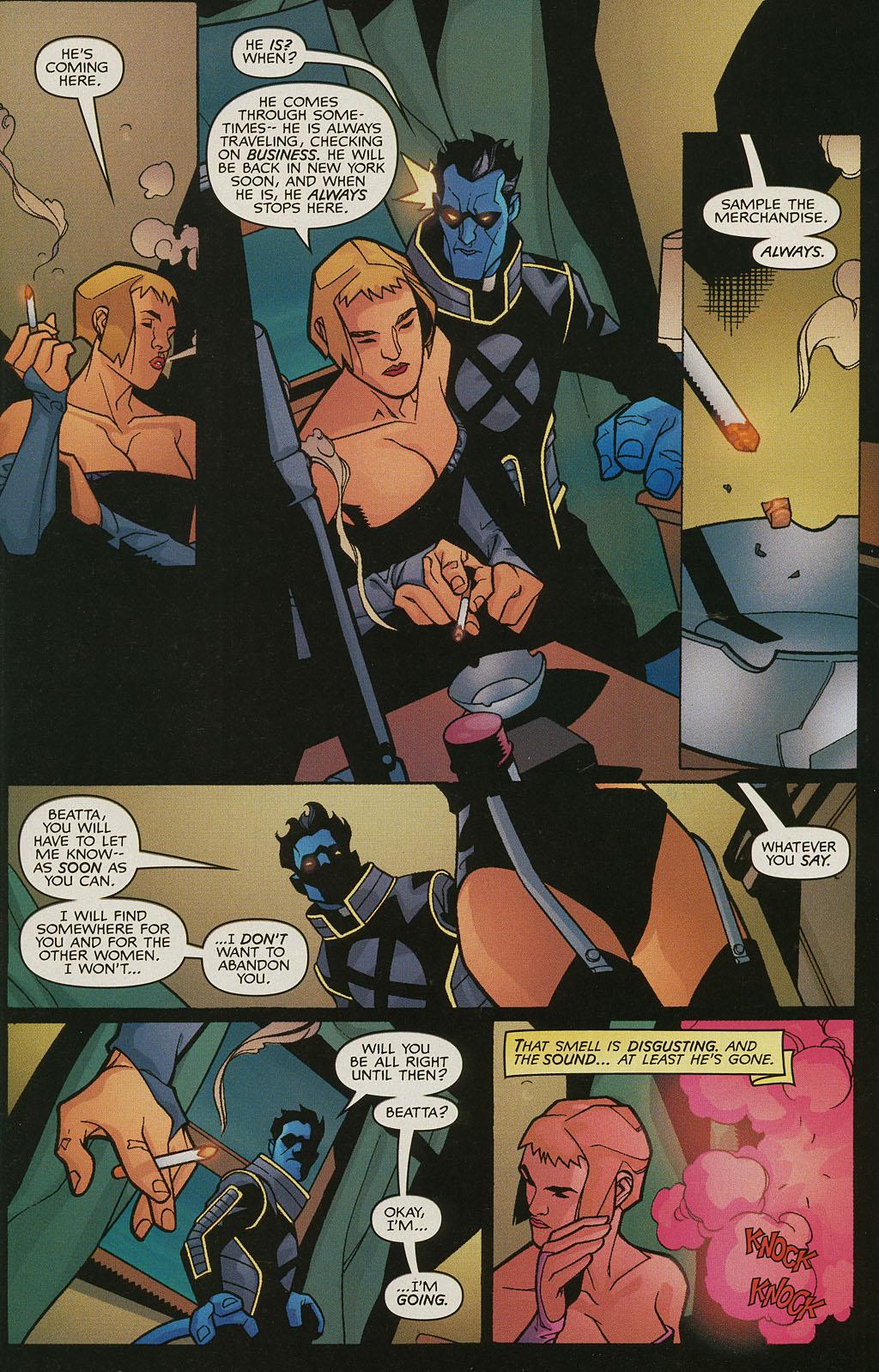 Read online Nightcrawler (2002) comic -  Issue #3 - 7