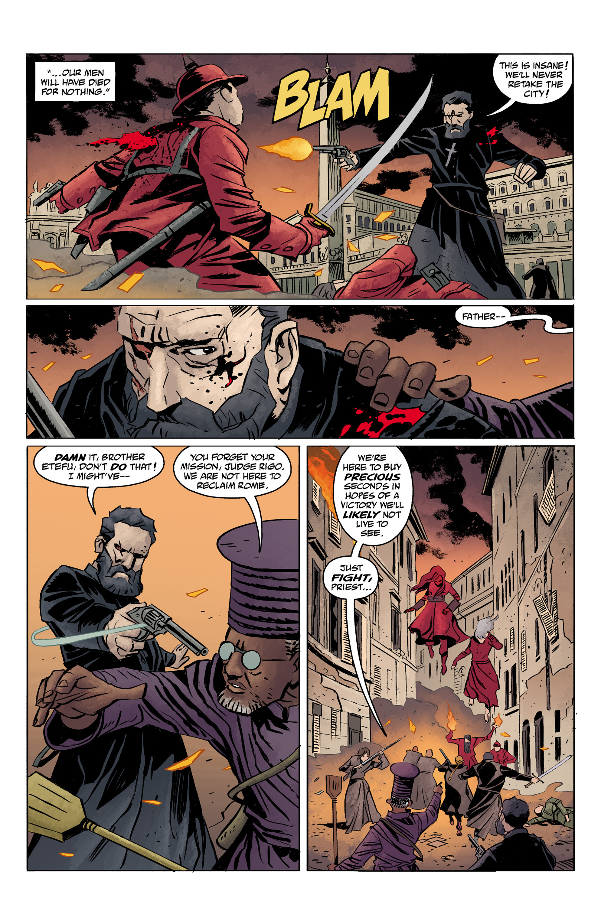 Read online Baltimore: The Red Kingdom comic -  Issue #5 - 4