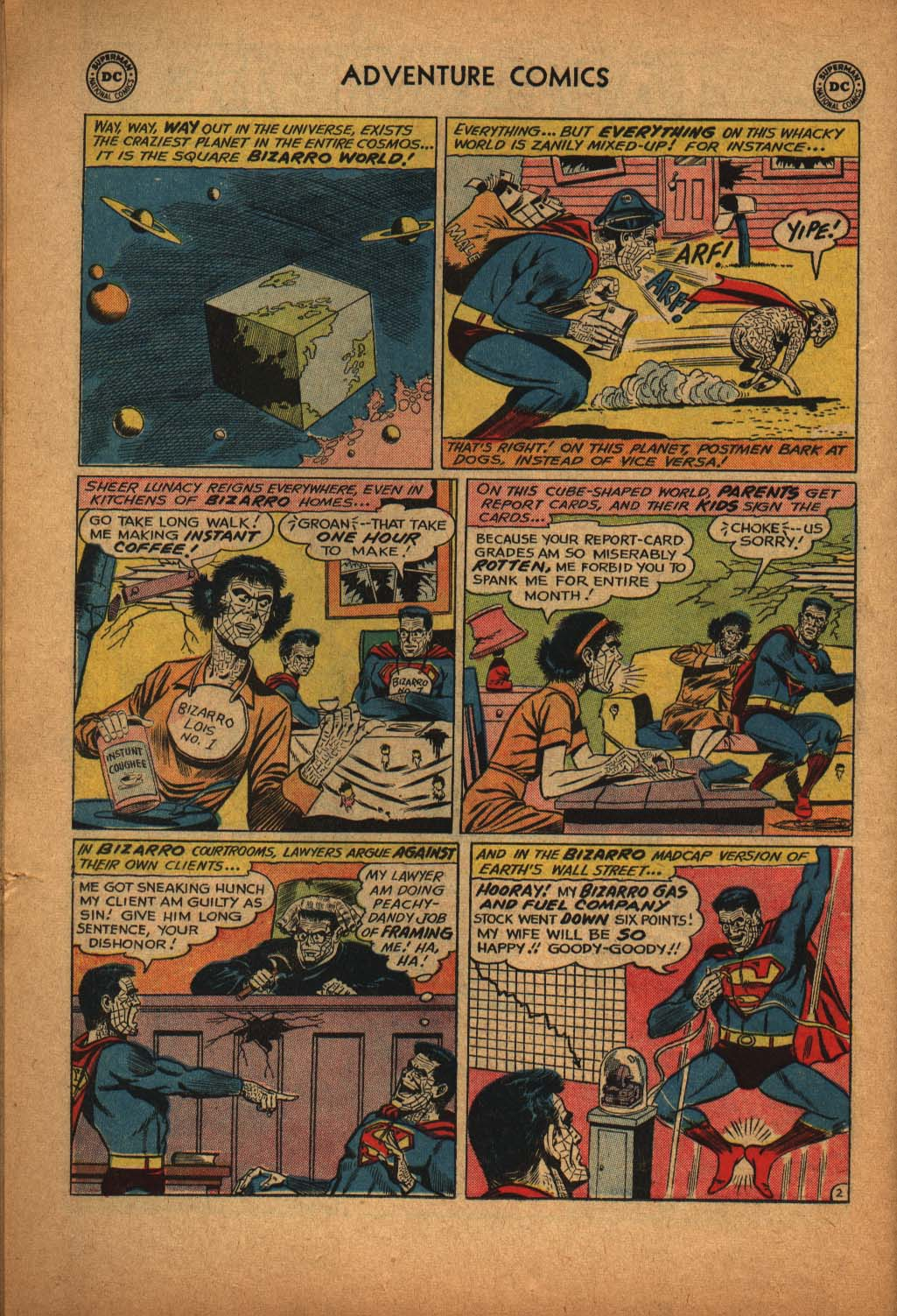 Read online Adventure Comics (1938) comic -  Issue #291 - 22