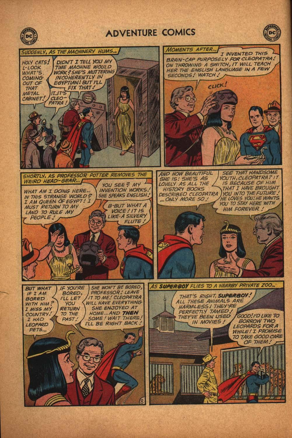 Read online Adventure Comics (1938) comic -  Issue #291 - 10