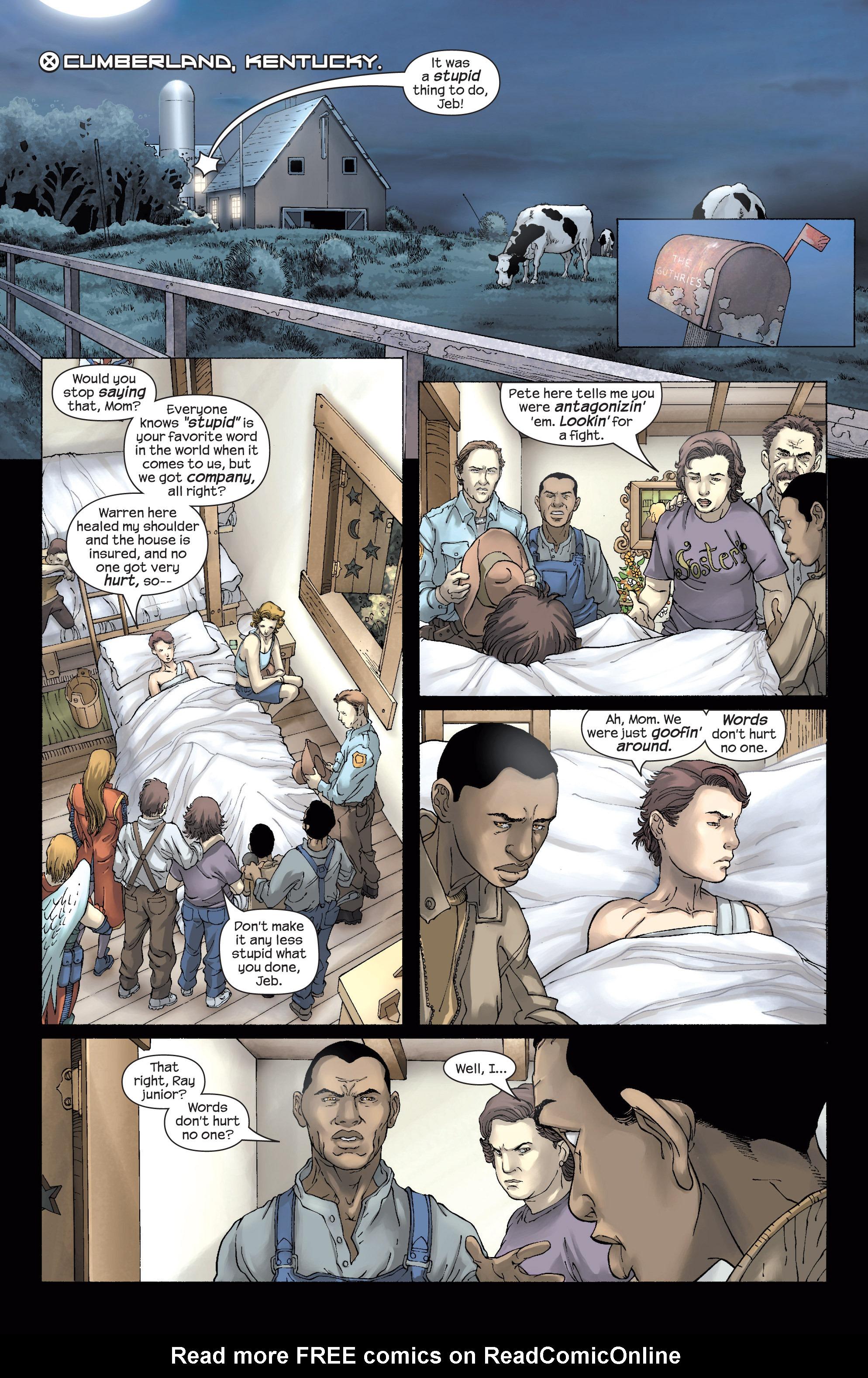 Read online Uncanny X-Men (1963) comic -  Issue #437 - 14