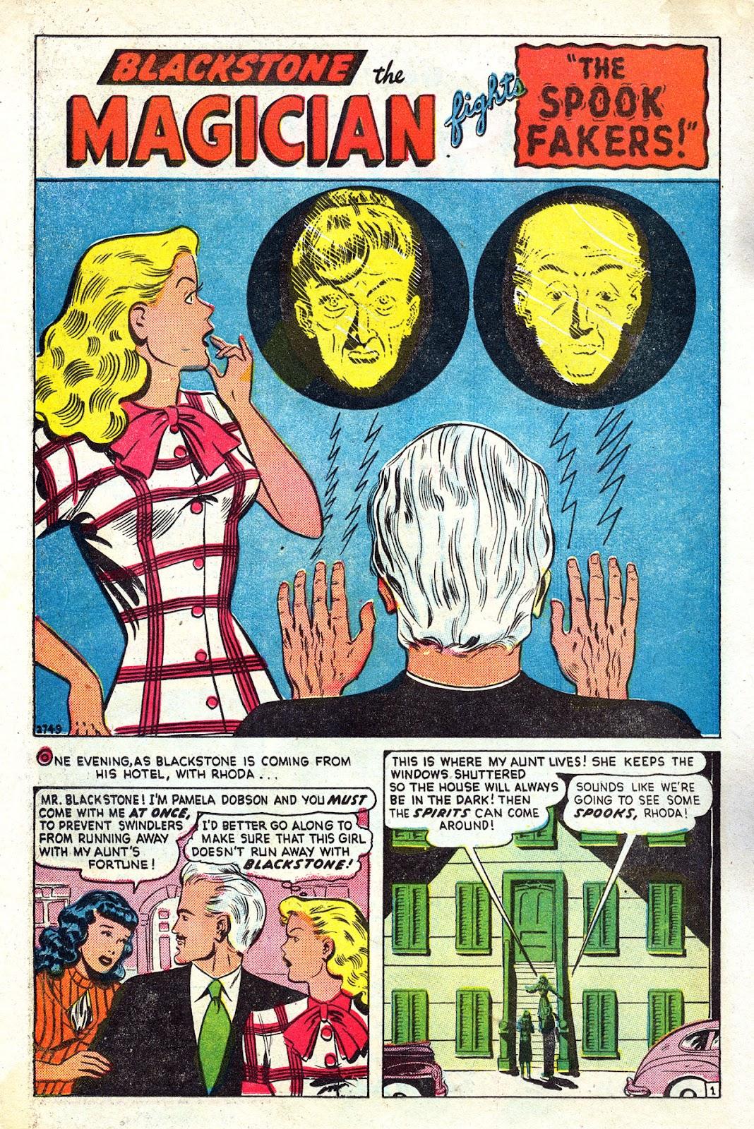 Read online Blackstone the Magician comic -  Issue #4 - 12