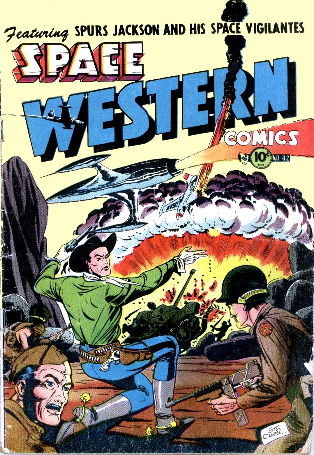 Space Western Comics issue 42 - Page 1