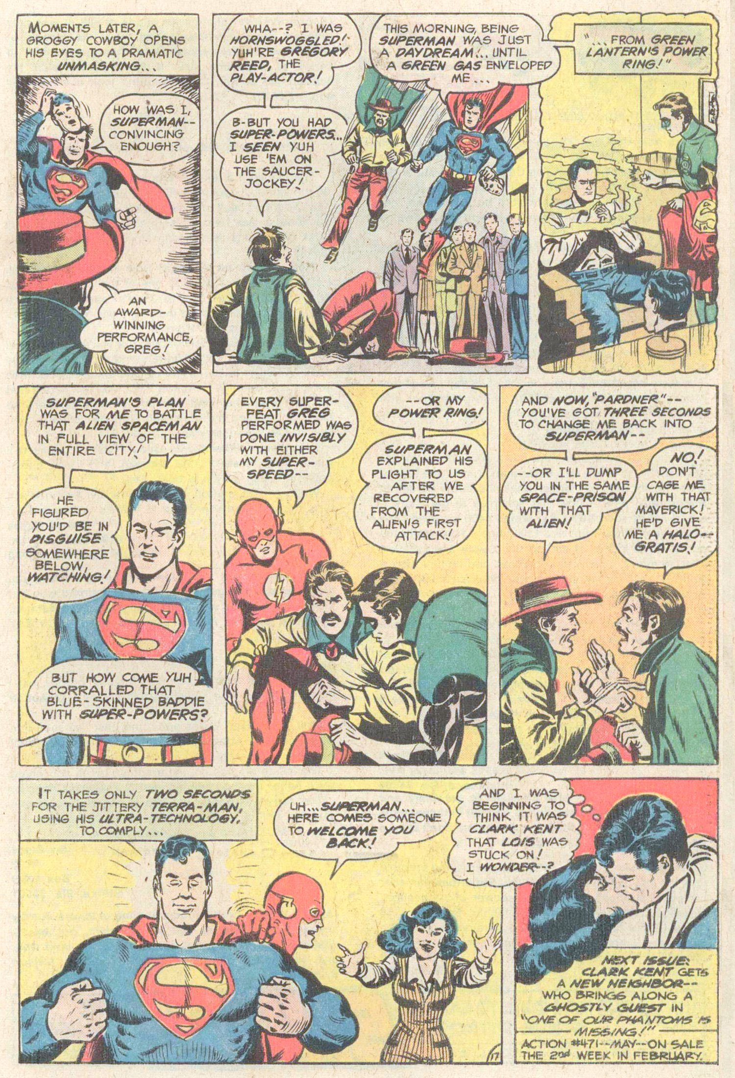 Read online Action Comics (1938) comic -  Issue #470 - 31