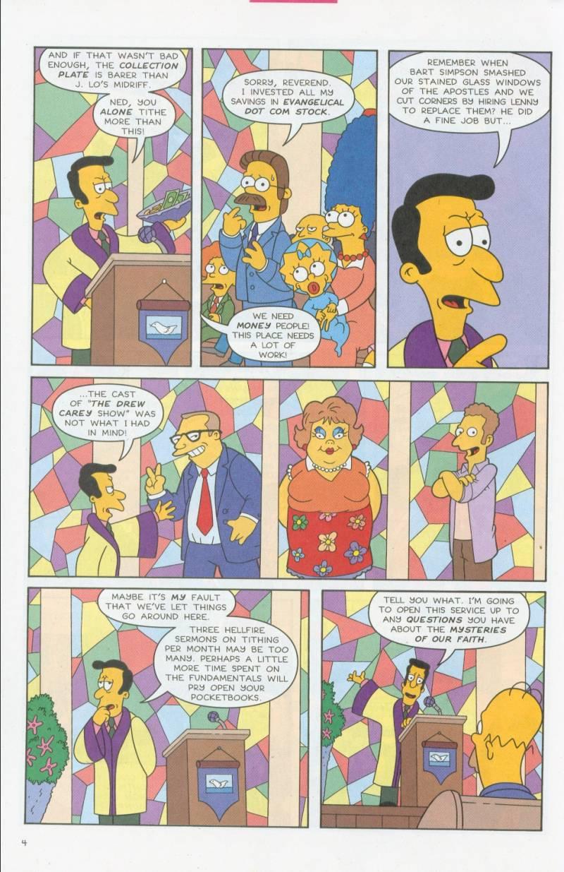 Read online Simpsons Comics comic -  Issue #69 - 5