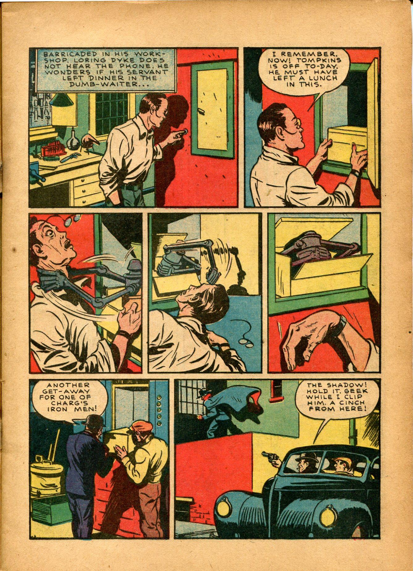 Read online Shadow Comics comic -  Issue #8 - 9