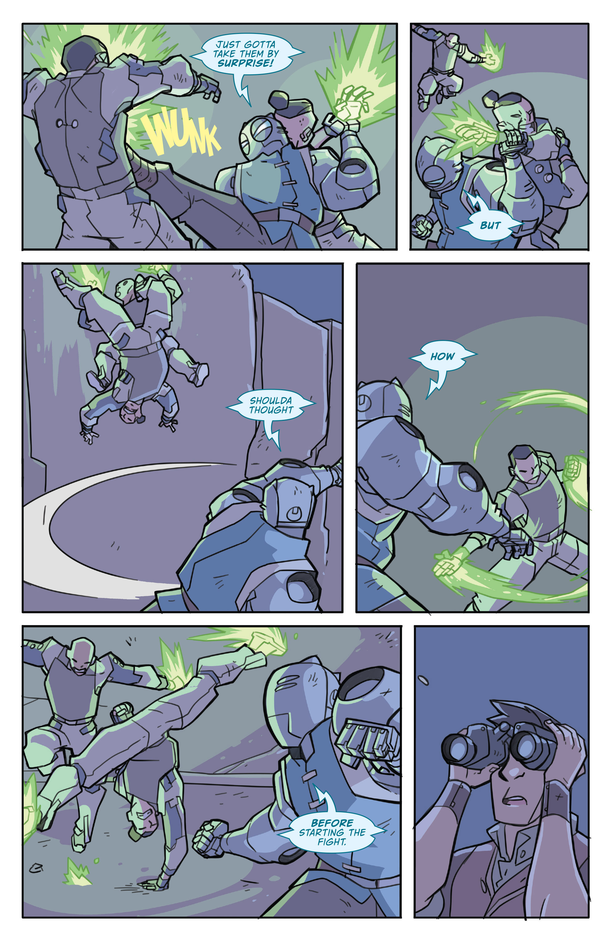 Read online Atomic Robo and the Temple of Od comic -  Issue #3 - 22