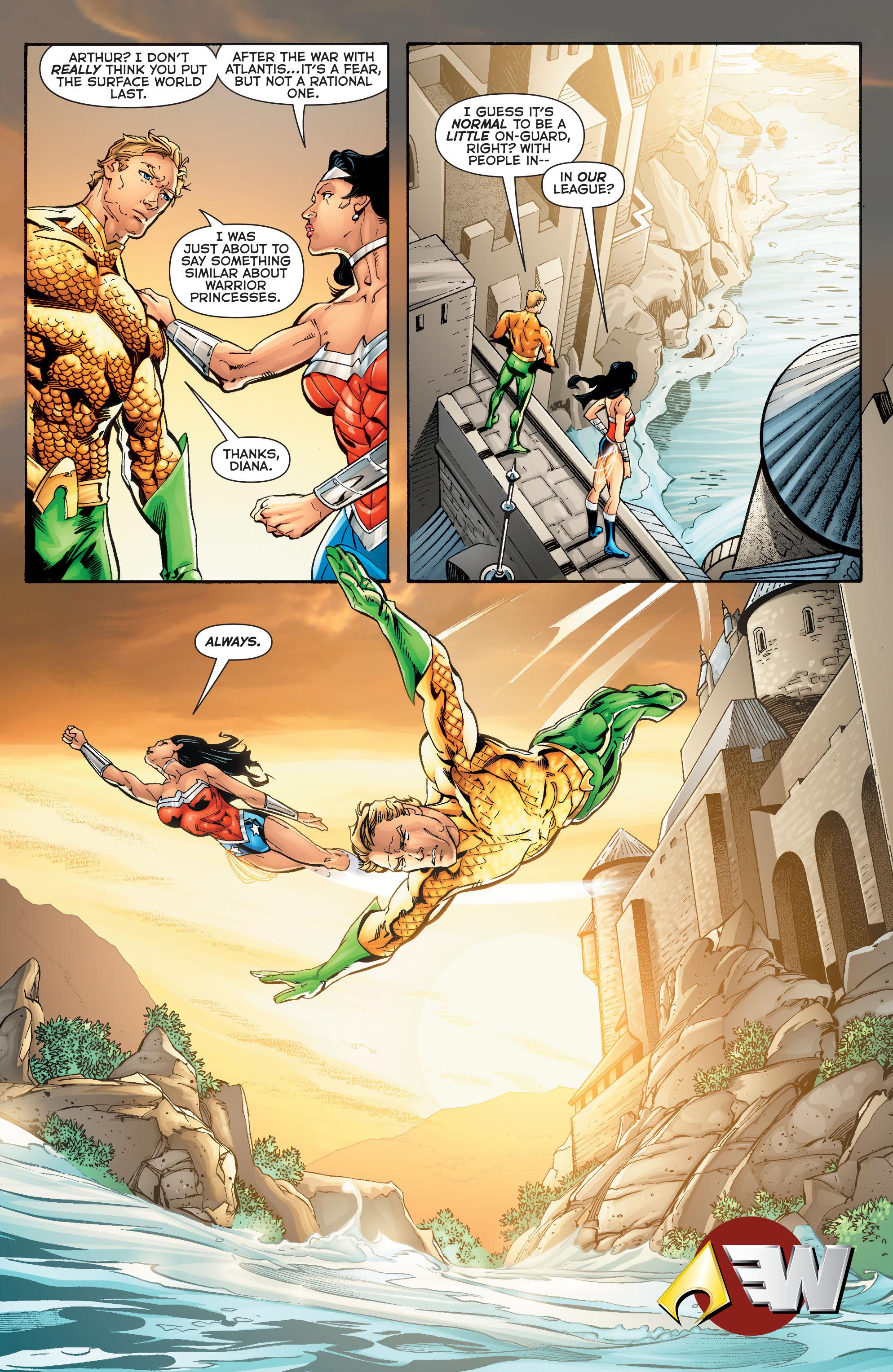 Read online Aquaman (2011) comic -  Issue #Aquaman (2011) _Annual 2 - 28