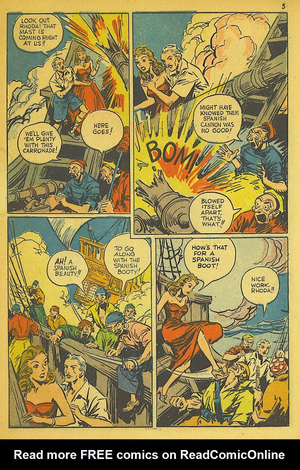 Read online Super-Magician Comics comic -  Issue #19 - 5
