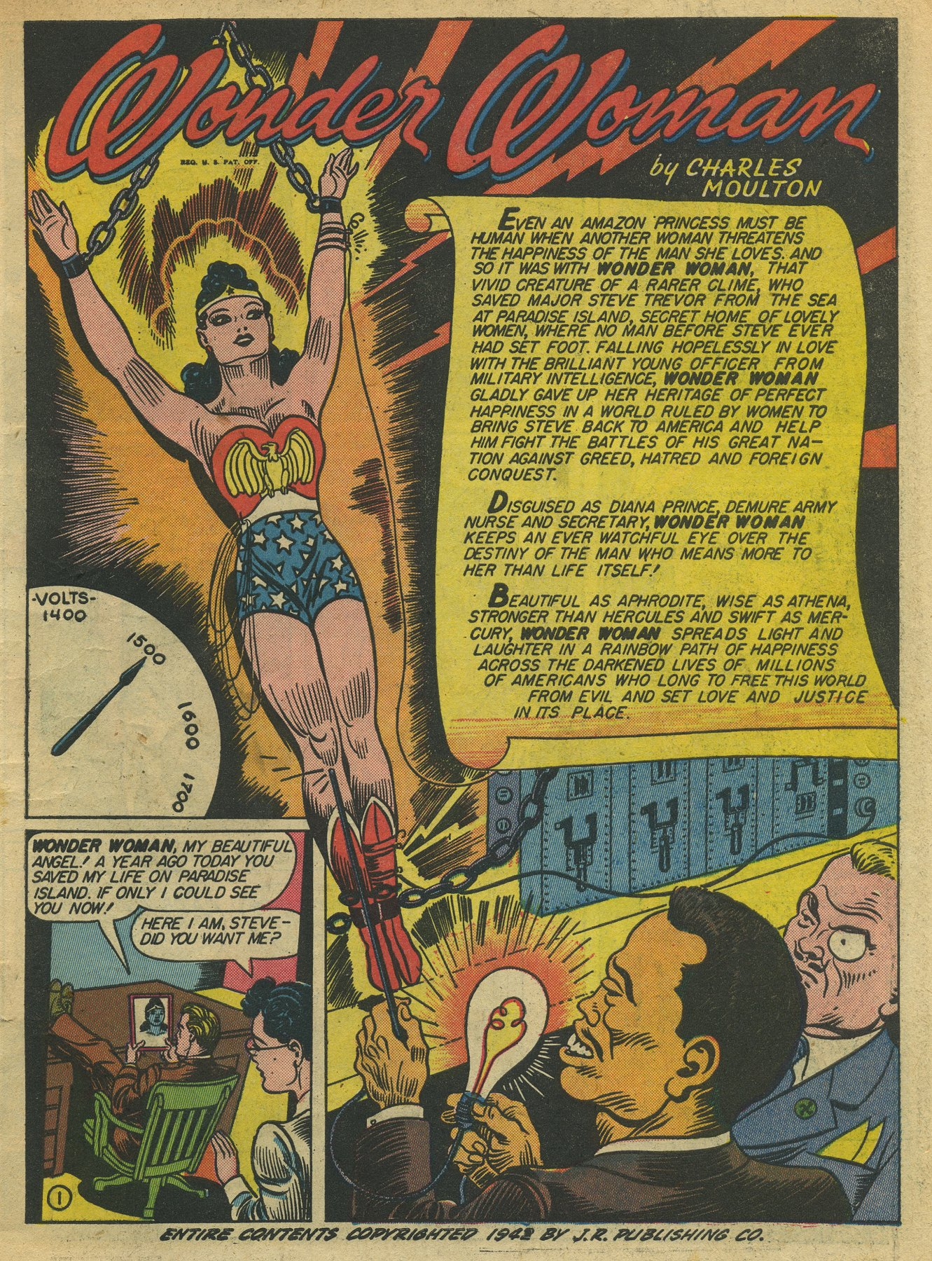 Read online Sensation (Mystery) Comics comic -  Issue #10 - 3