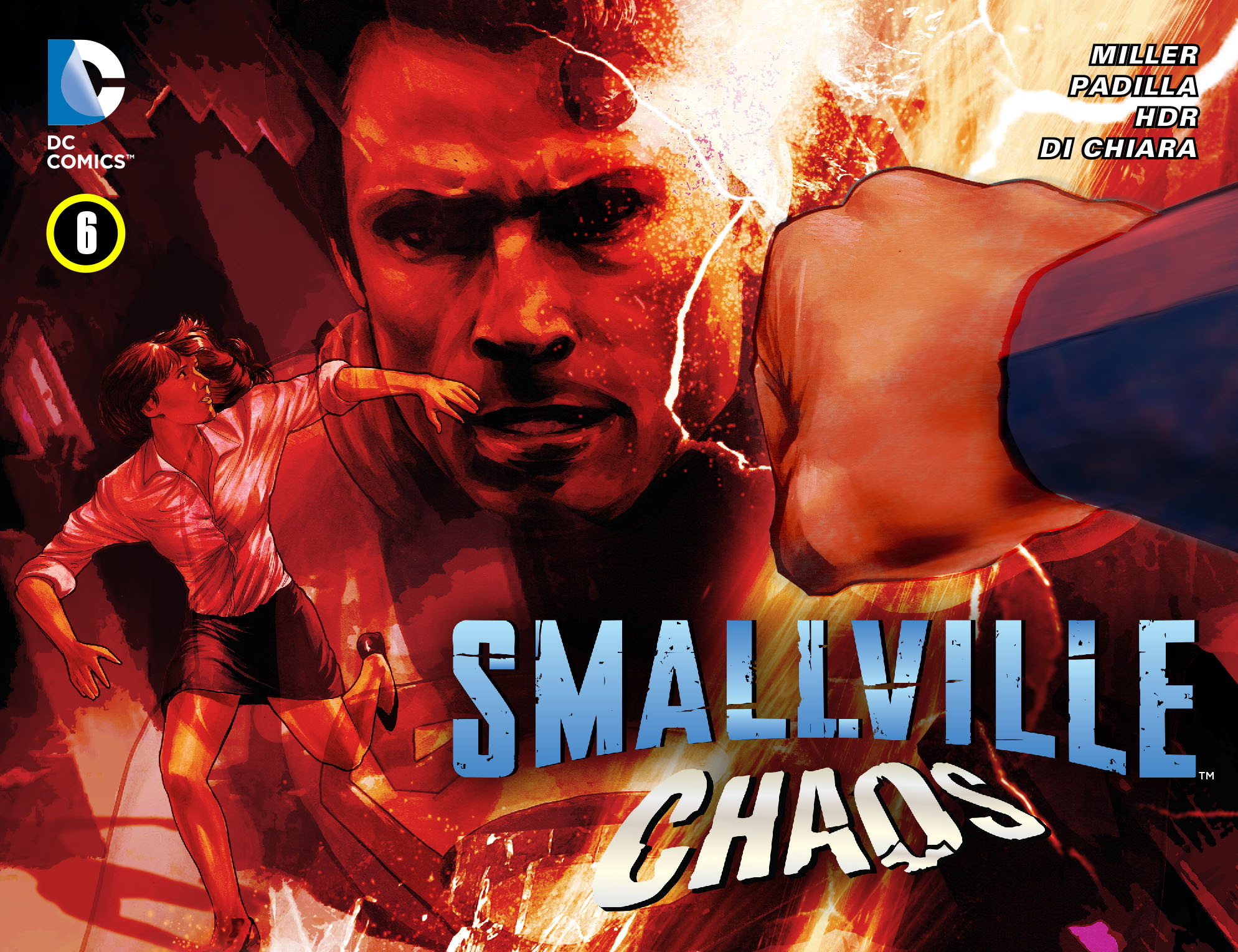 Read online Smallville: Chaos [II] comic -  Issue #6 - 1