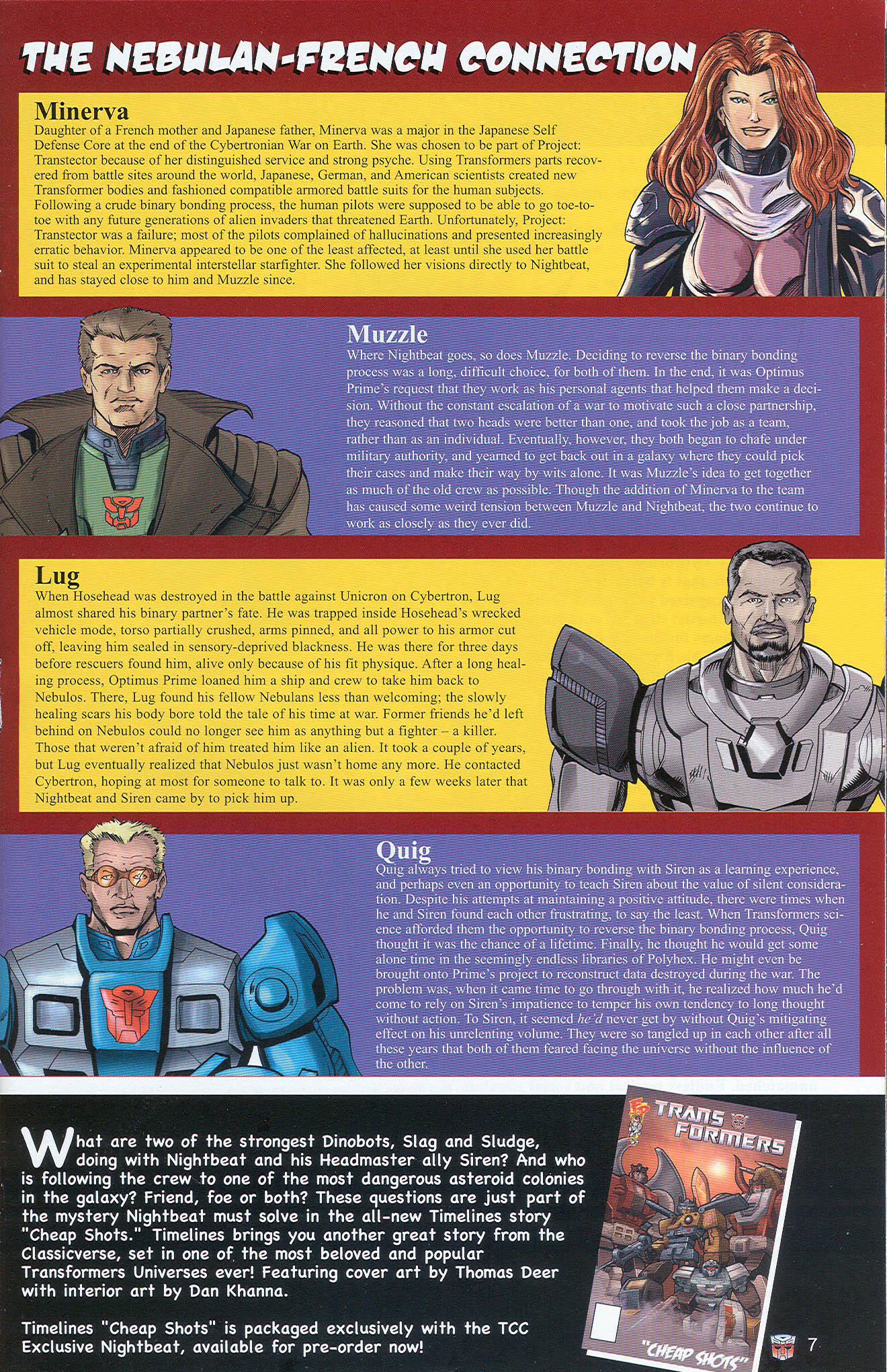 Read online Transformers: Collectors' Club comic -  Issue #22 - 7