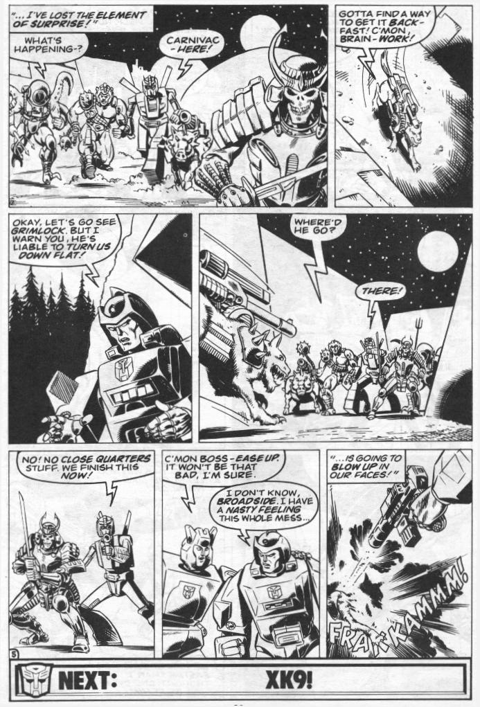 The Transformers (UK) 273 Page 10