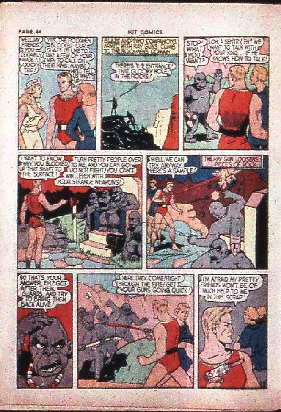 Read online Hit Comics comic -  Issue #4 - 46