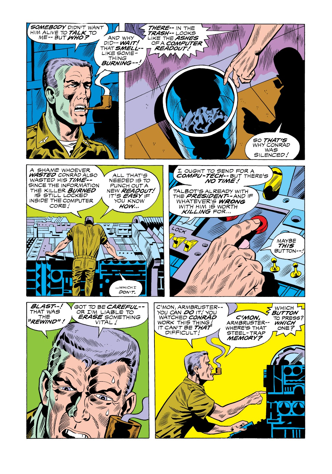 Read online Marvel Masterworks: The Incredible Hulk comic -  Issue # TPB 11 (Part 1) - 33