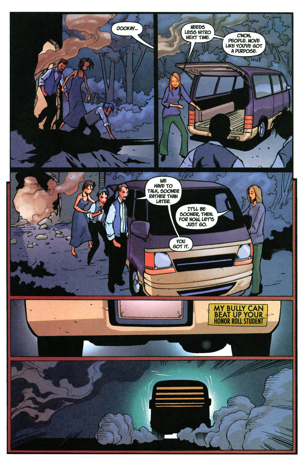 Read online SpyBoy: Final Exam comic -  Issue #3 - 23