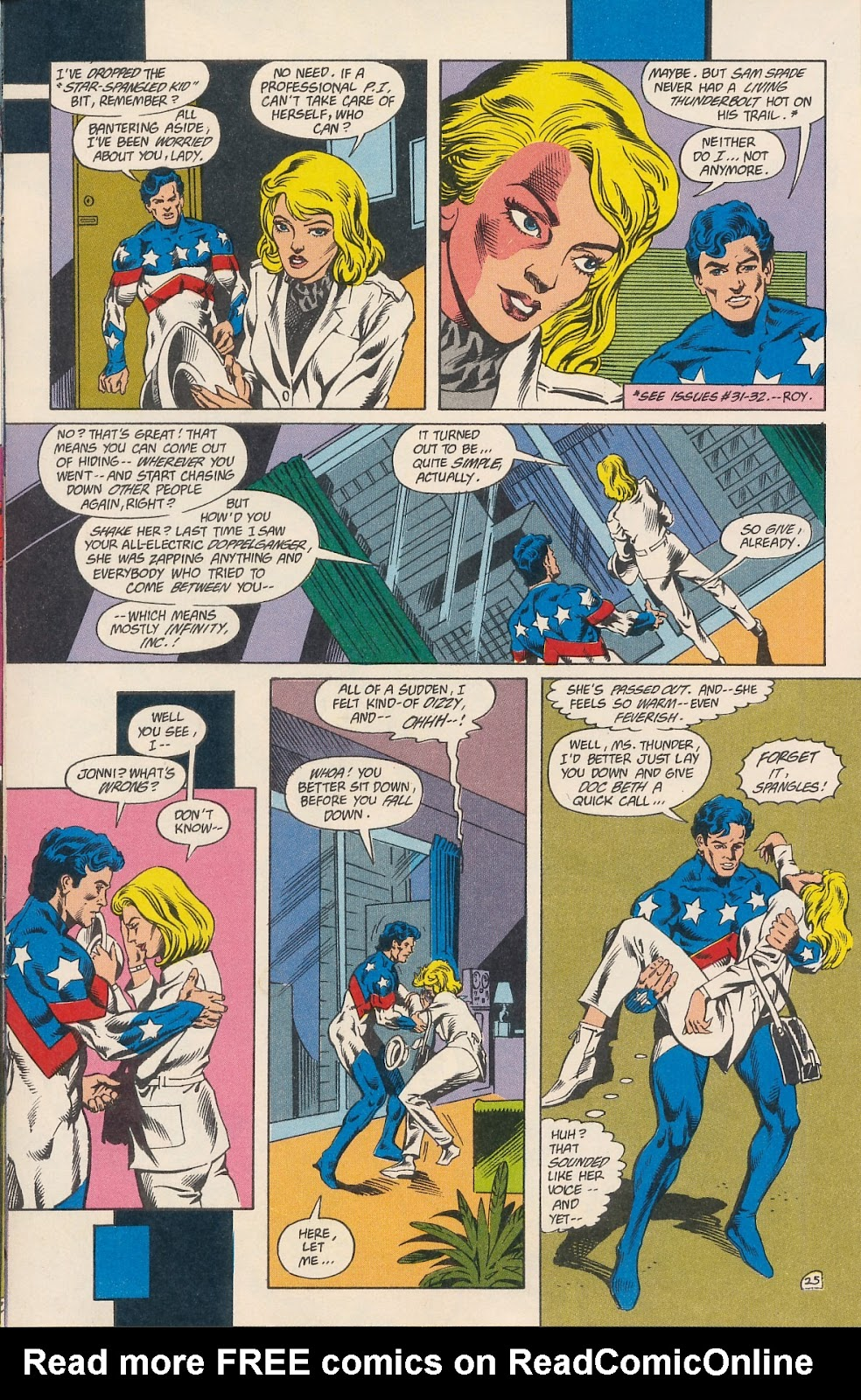 Infinity Inc. (1984) issue 40 - Page 27