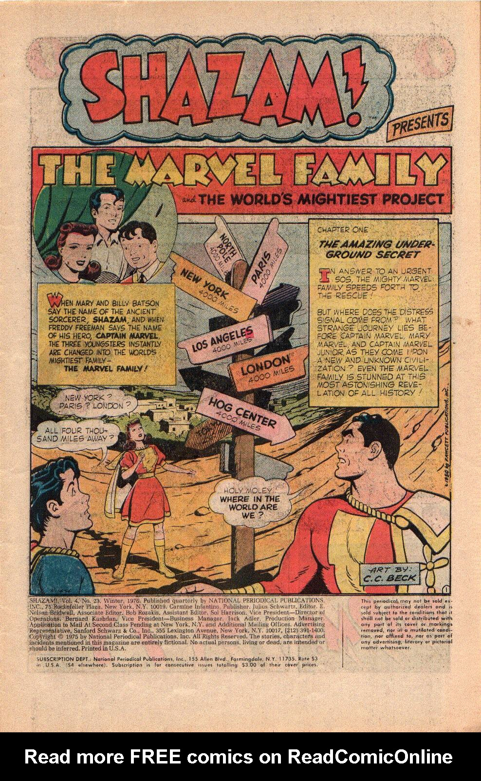 Read online Shazam! (1973) comic -  Issue #23 - 3