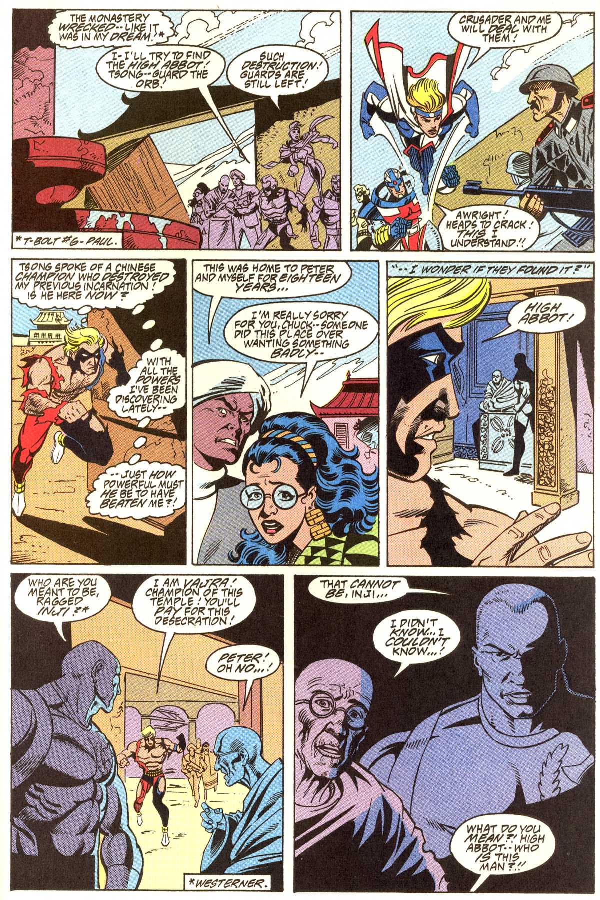 Read online Peter Cannon--Thunderbolt (1992) comic -  Issue #11 - 22