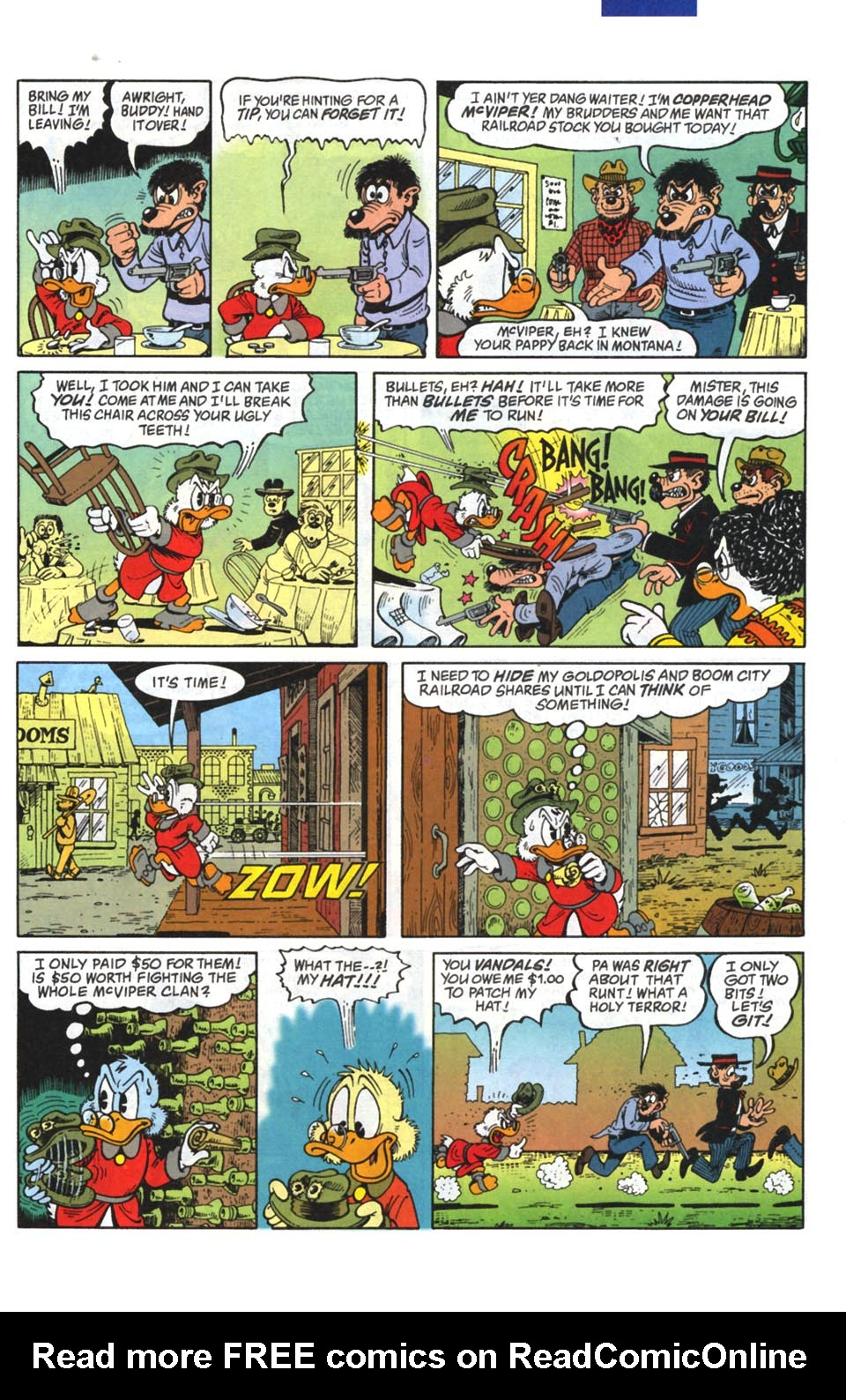 Read online Uncle Scrooge (1953) comic -  Issue #295 - 4