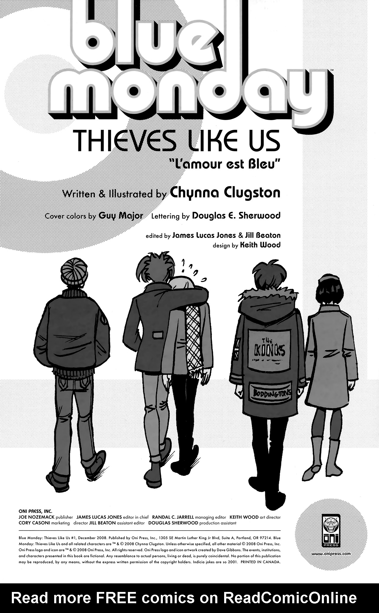 Blue Monday: Thieves Like Us Full Page 2