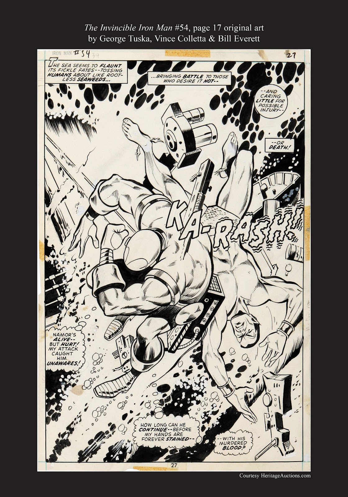 Read online Marvel Masterworks: The Invincible Iron Man comic -  Issue # TPB 9 (Part 3) - 92