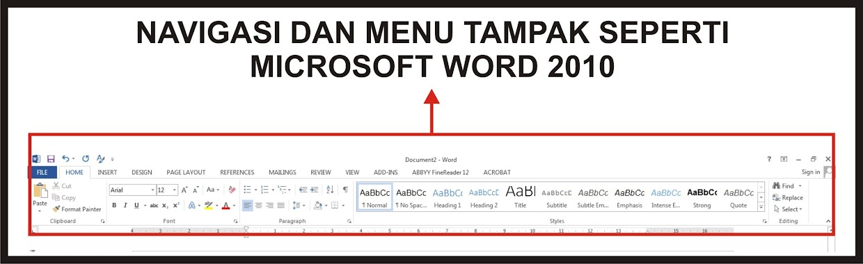 Tutorial Belajar Microsoft Office Word 2013 Terlengkap