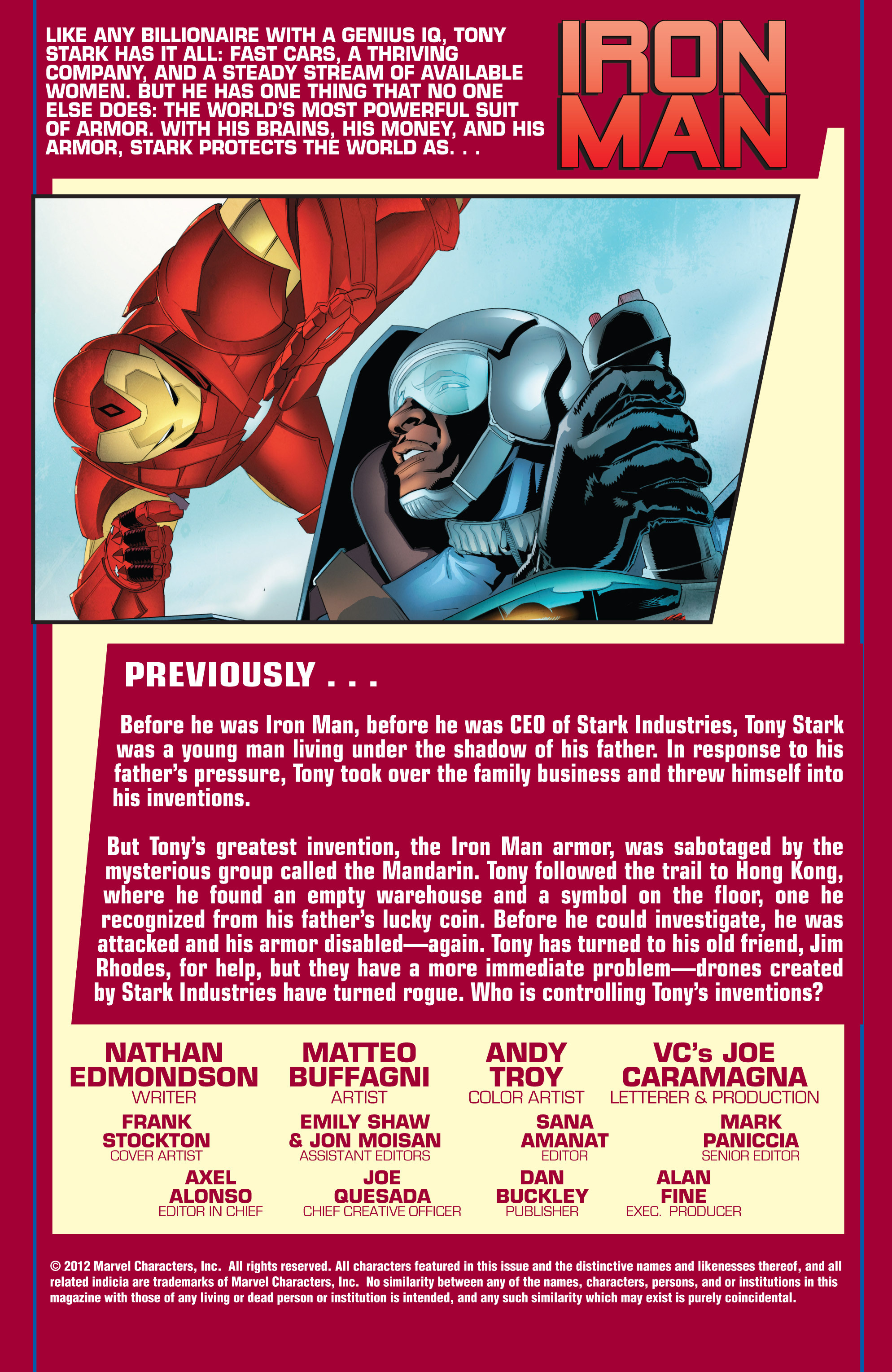 Read online Ultimate Comics Iron Man comic -  Issue #3 - 2