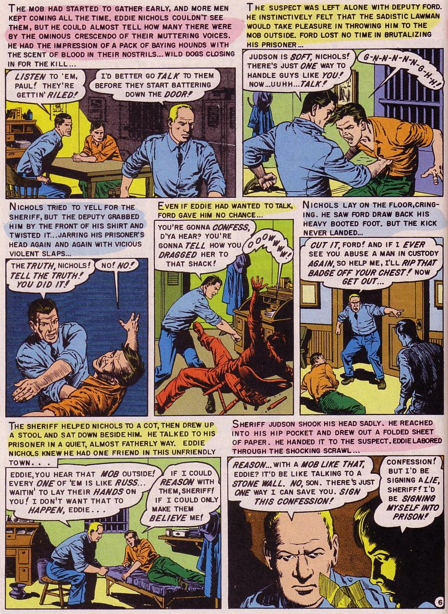 Read online Shock SuspenStories comic -  Issue #16 - 20