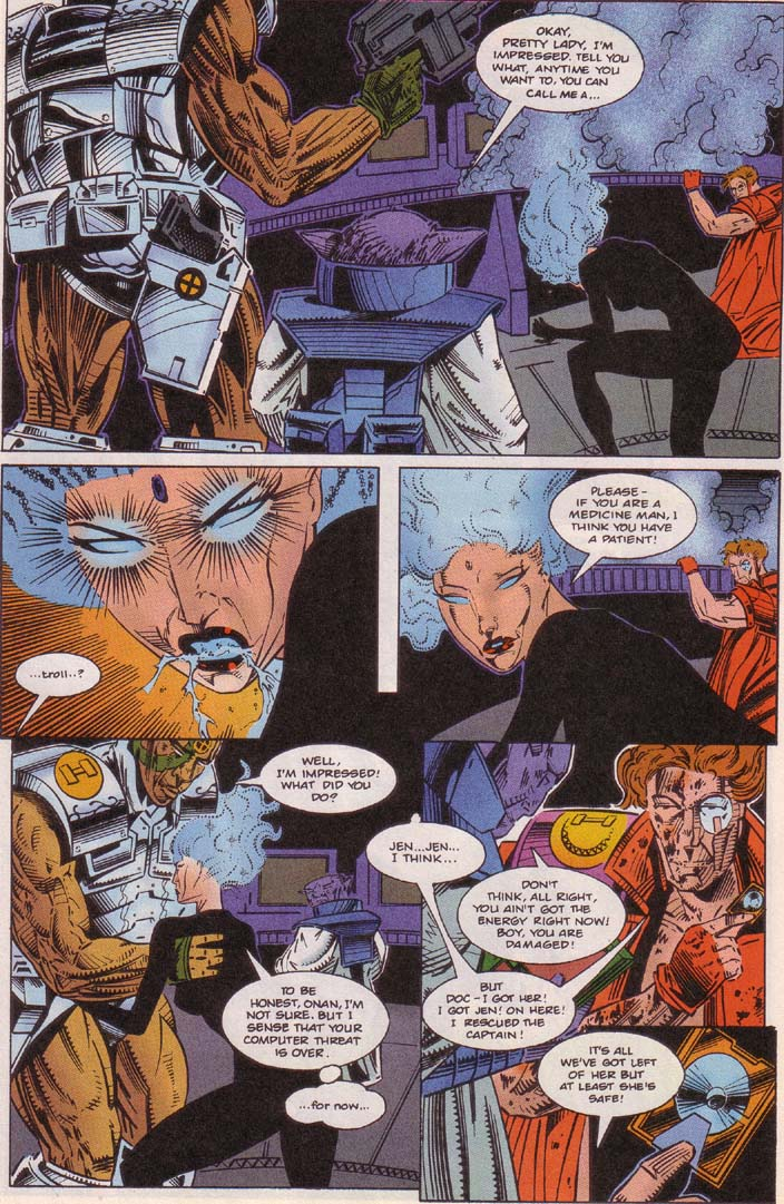 Read online Cyberspace 3000 comic -  Issue #5 - 16
