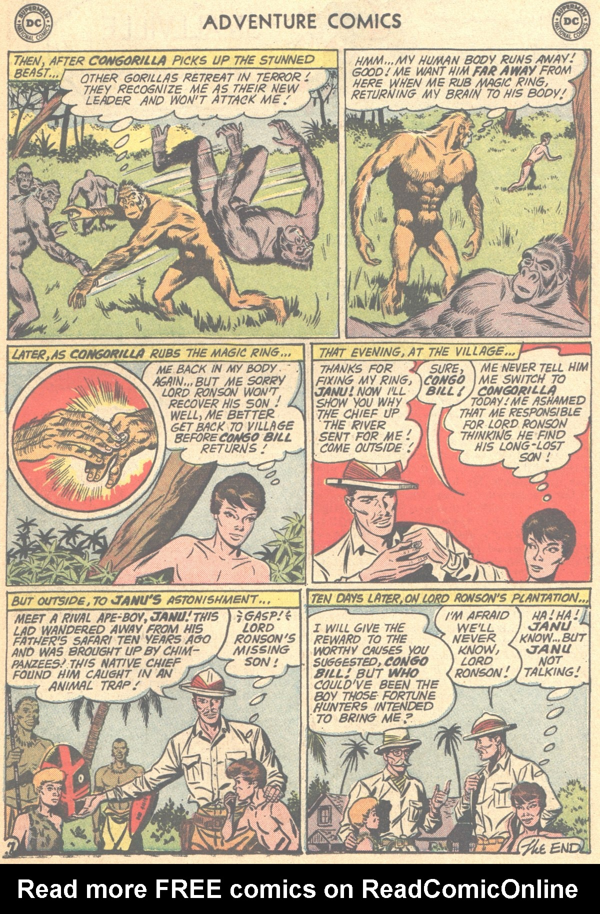 Read online Adventure Comics (1938) comic -  Issue #278 - 23