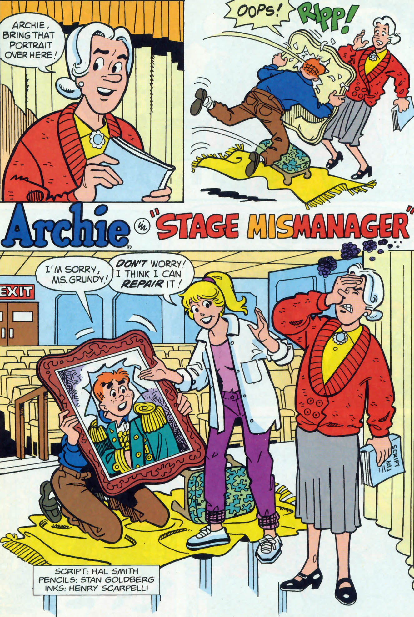 Read online Archie (1960) comic -  Issue #465 - 21