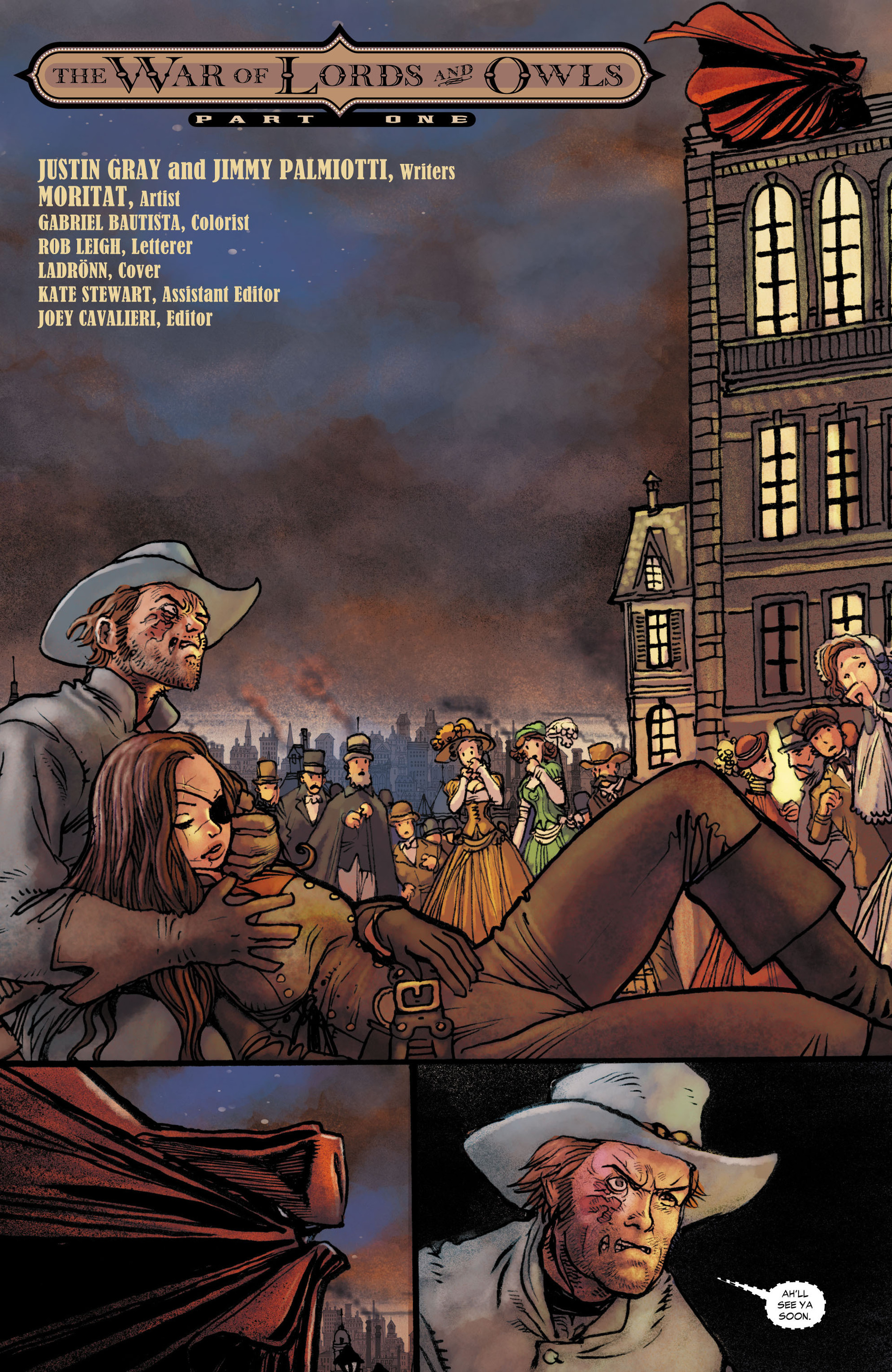 Read online All-Star Western (2011) comic -  Issue #10 - 3
