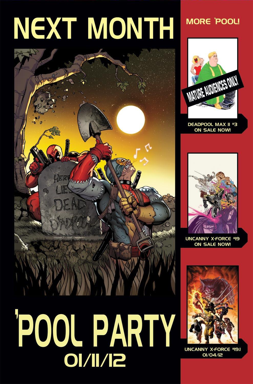 Read online Deadpool (2008) comic -  Issue #48 - 22
