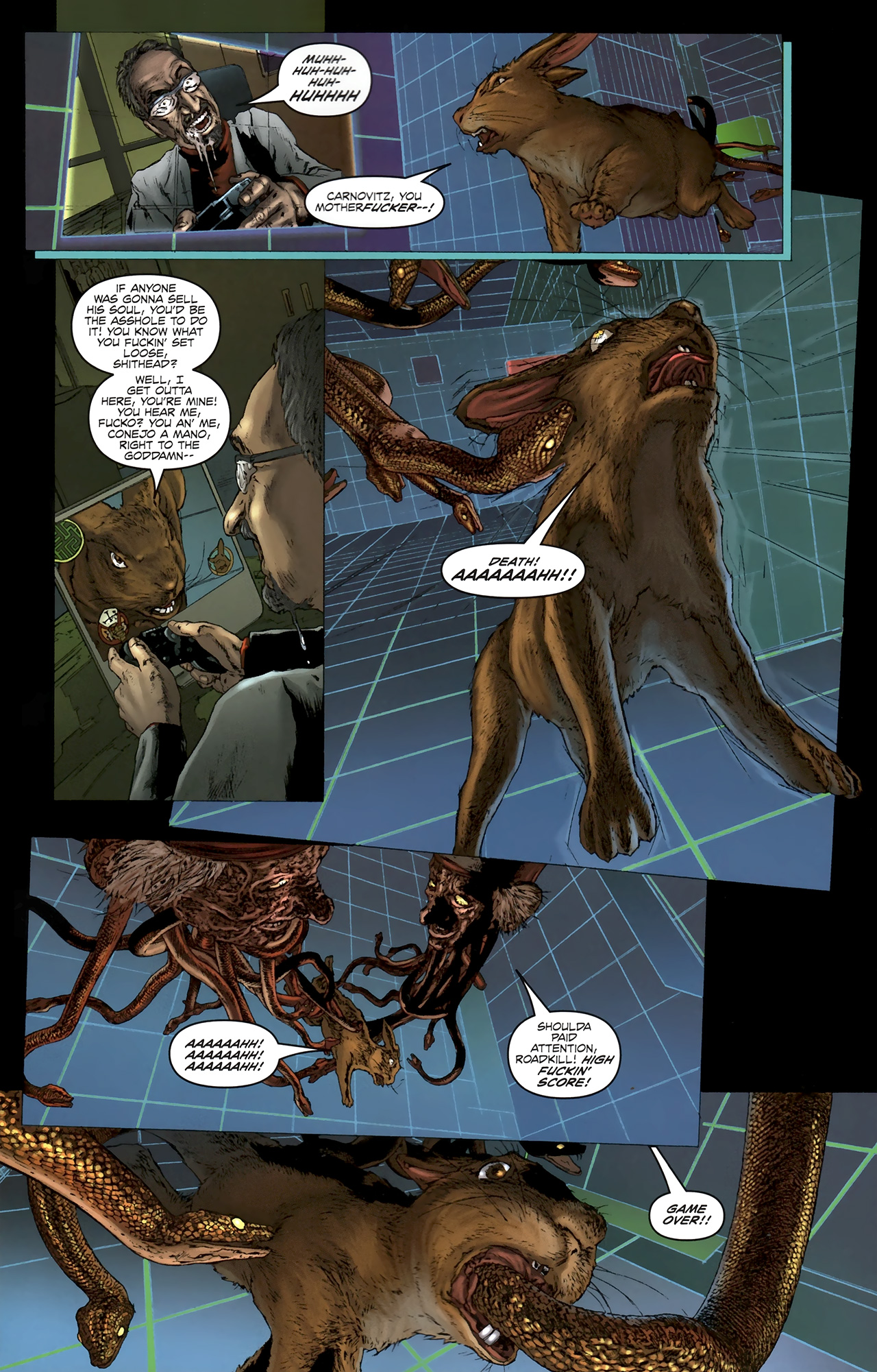 Read online Chronicles of Wormwood: The Last Battle comic -  Issue #5 - 19