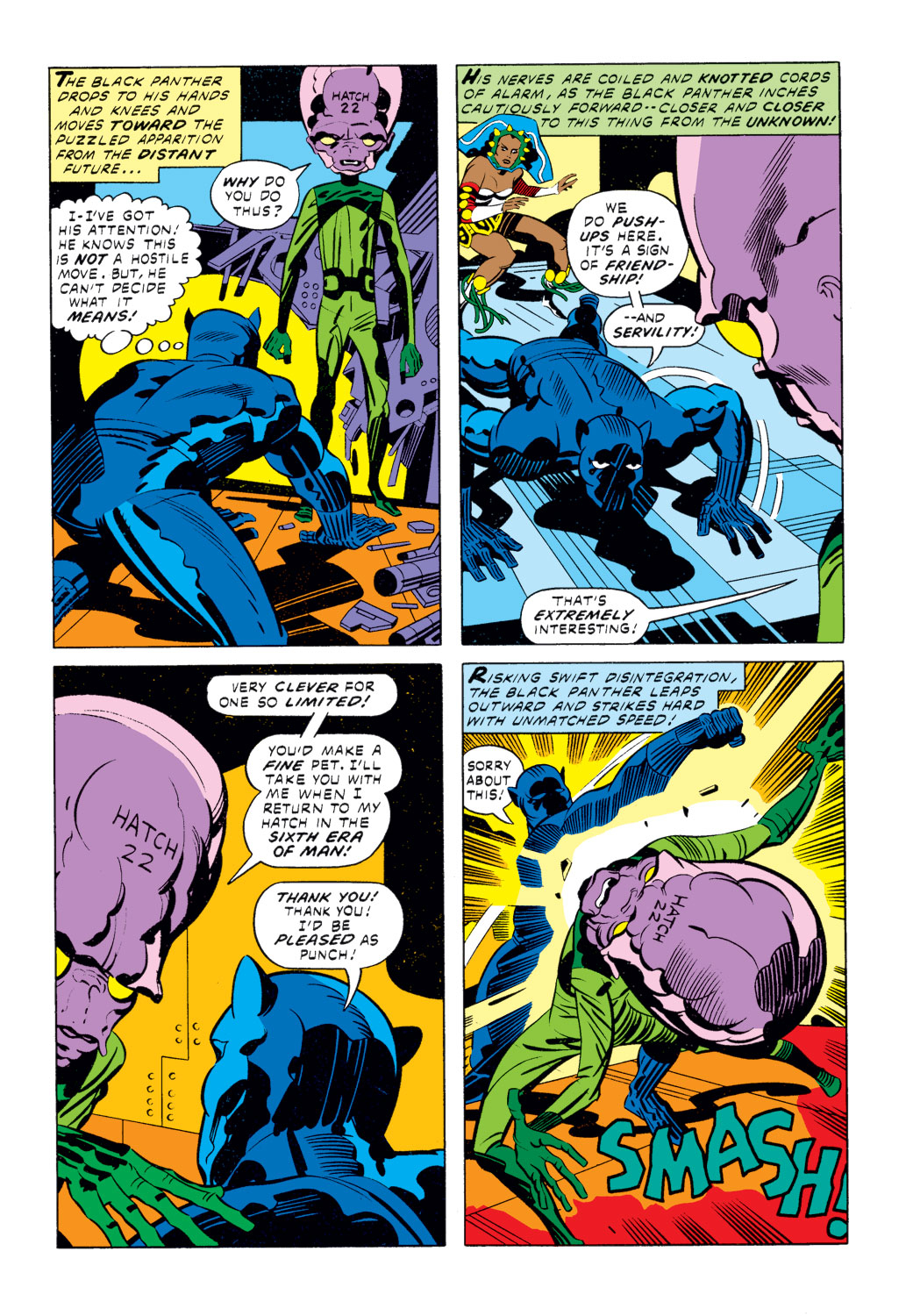 Black Panther (1977) issue 2 - Page 5