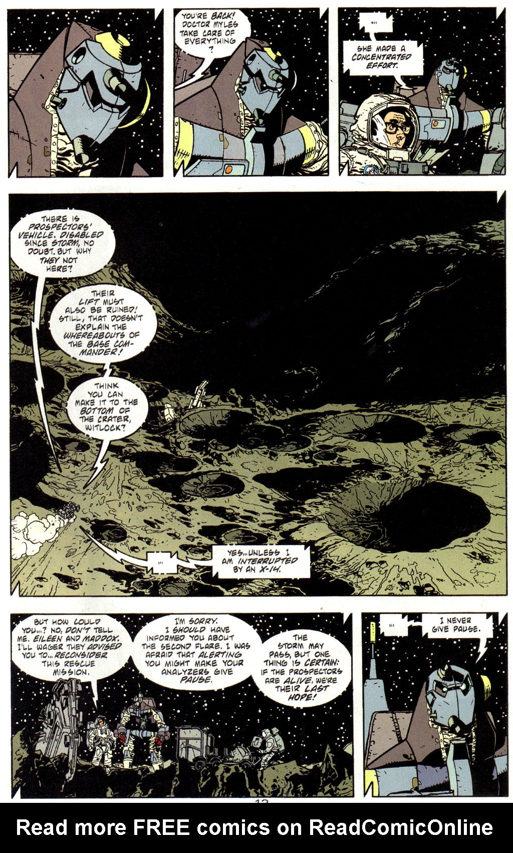 Read online Trouble Magnet comic -  Issue #3 - 14