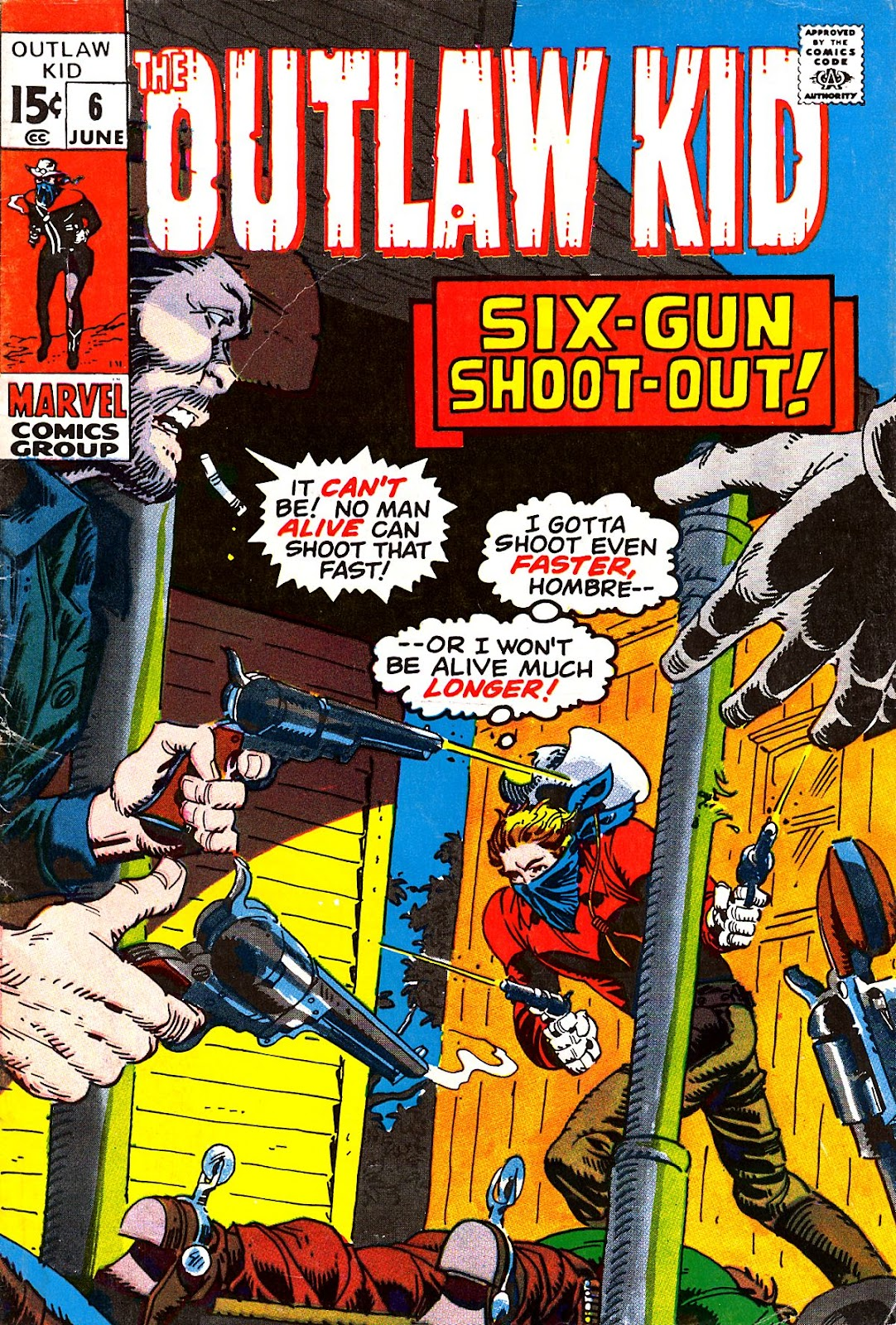 The Outlaw Kid (1970) issue 6 - Page 1