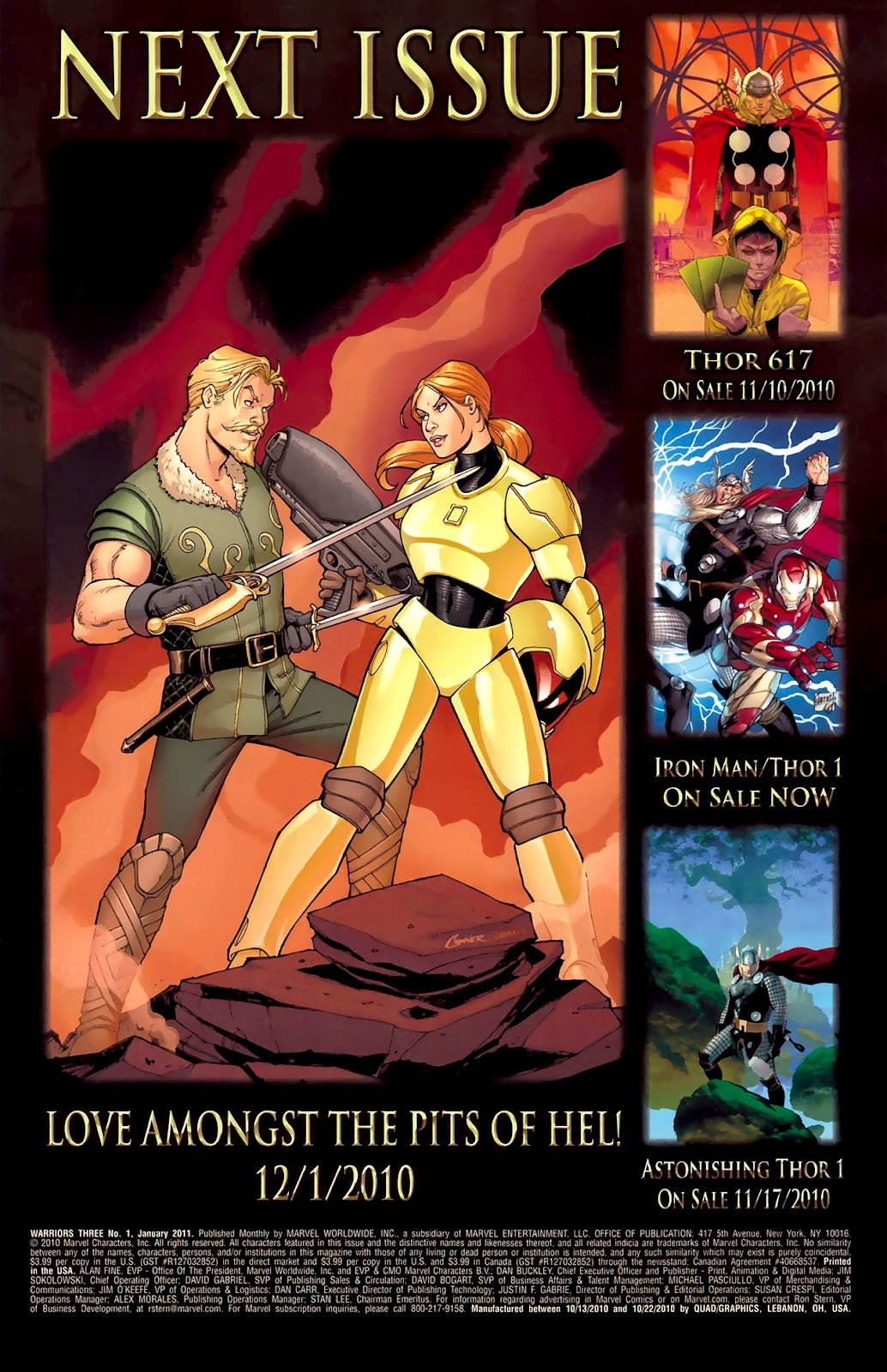 Warriors Three Issue #1 #1 - English 23