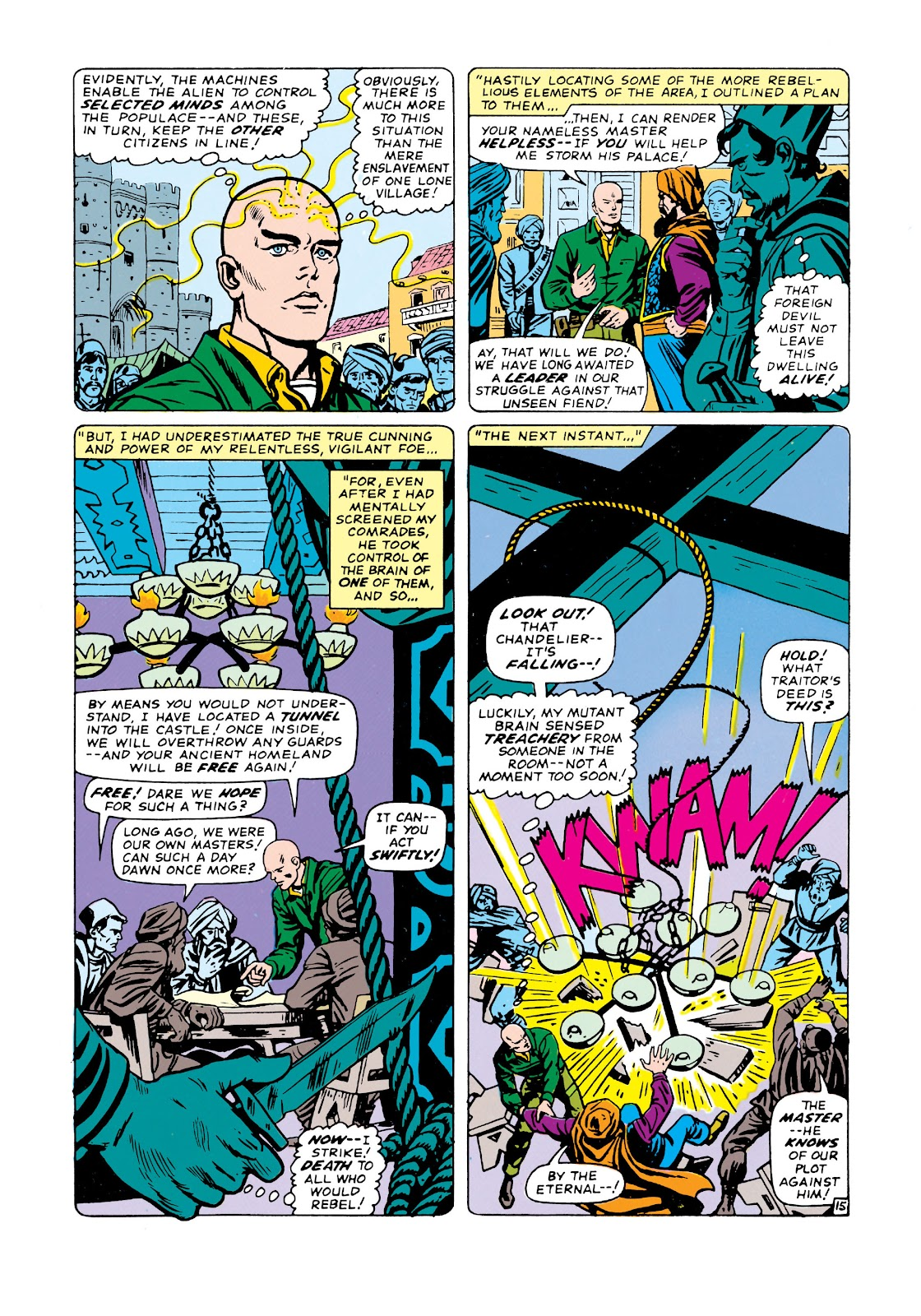 Uncanny X-Men (1963) issue 20 - Page 16