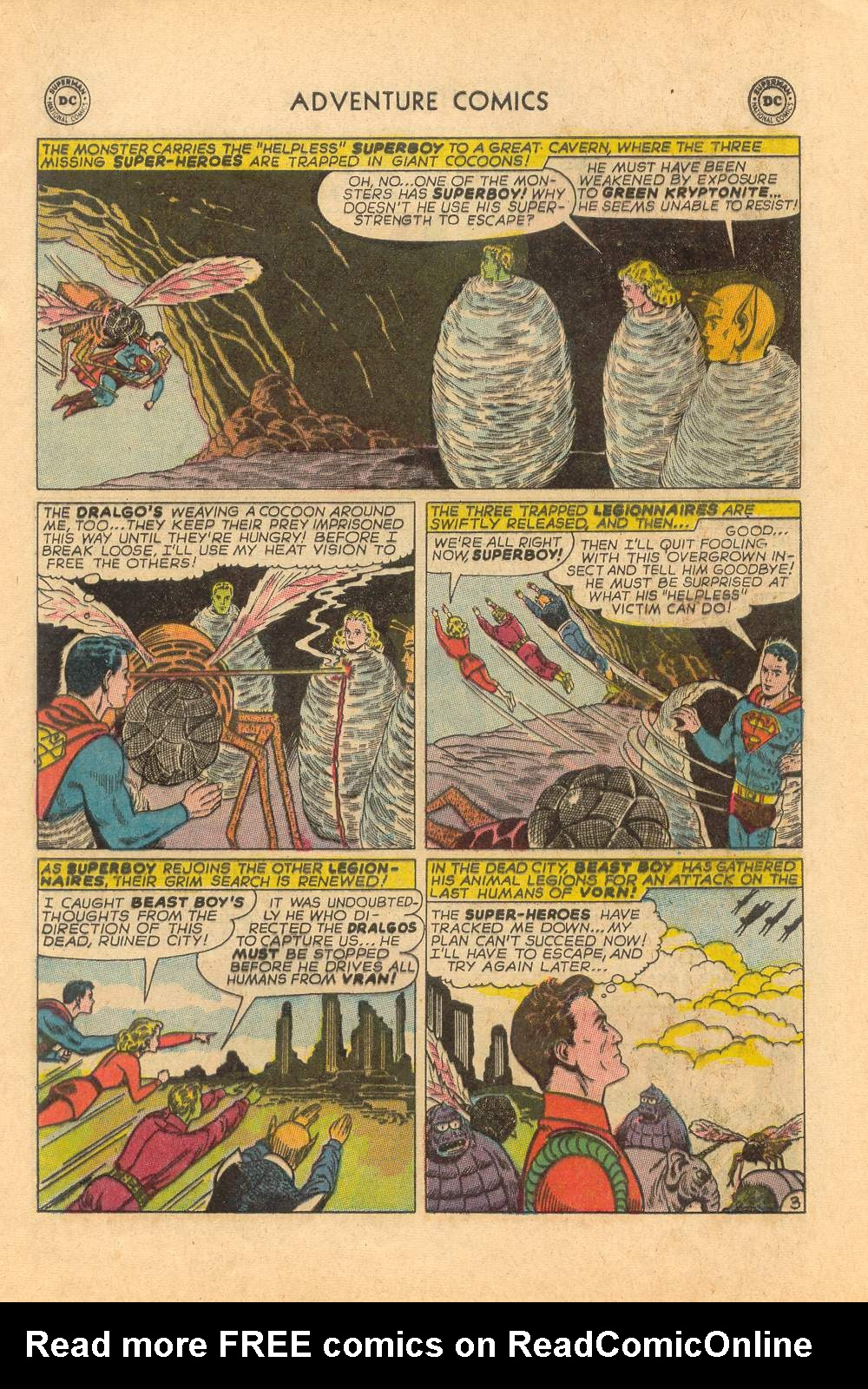 Read online Adventure Comics (1938) comic -  Issue #339 - 17