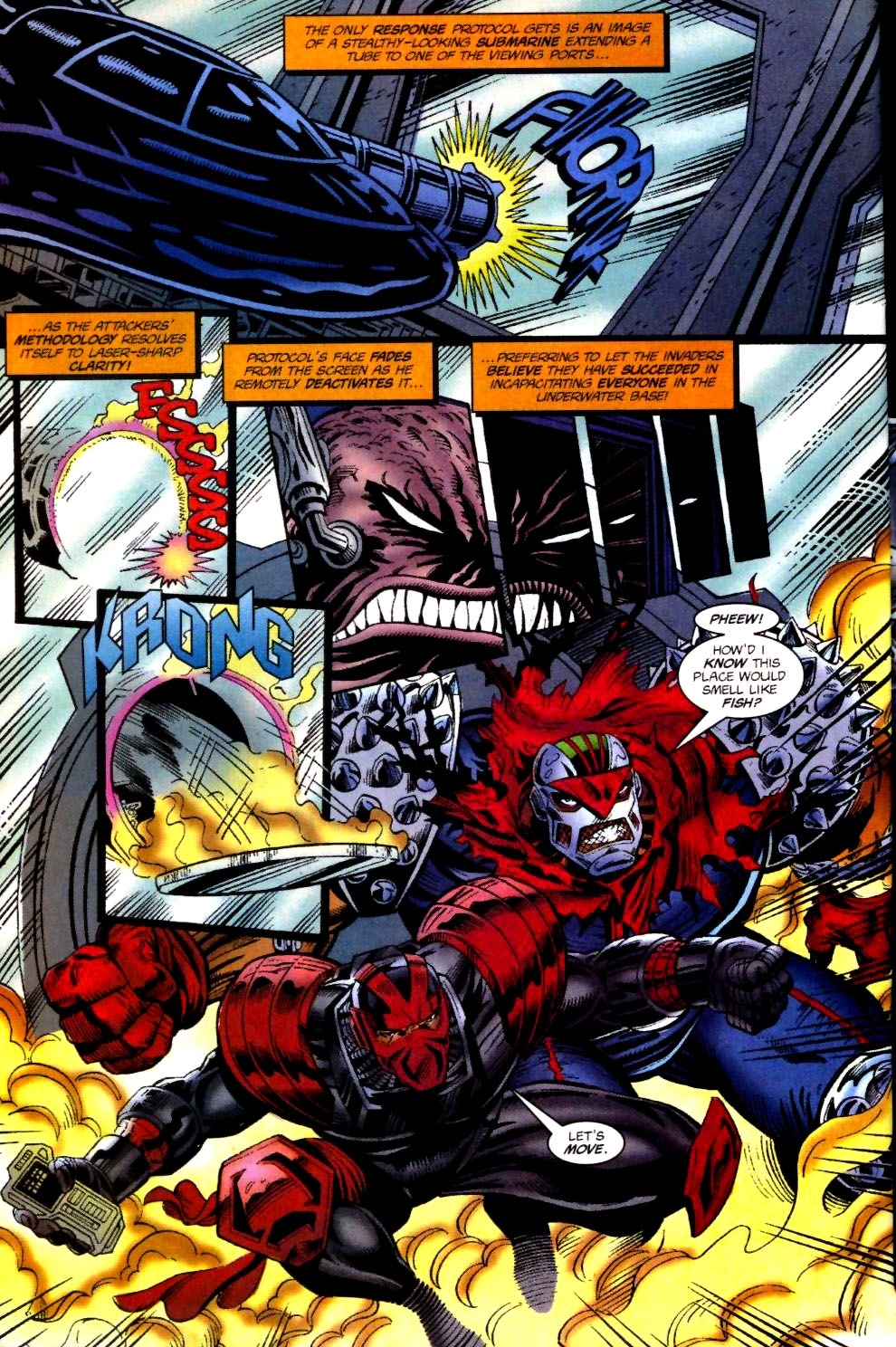 The New Warriors Issue #74 #78 - English 14