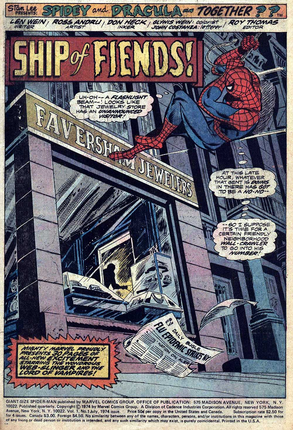 Giant-Size Spider-Man (1974) 1 Page 2
