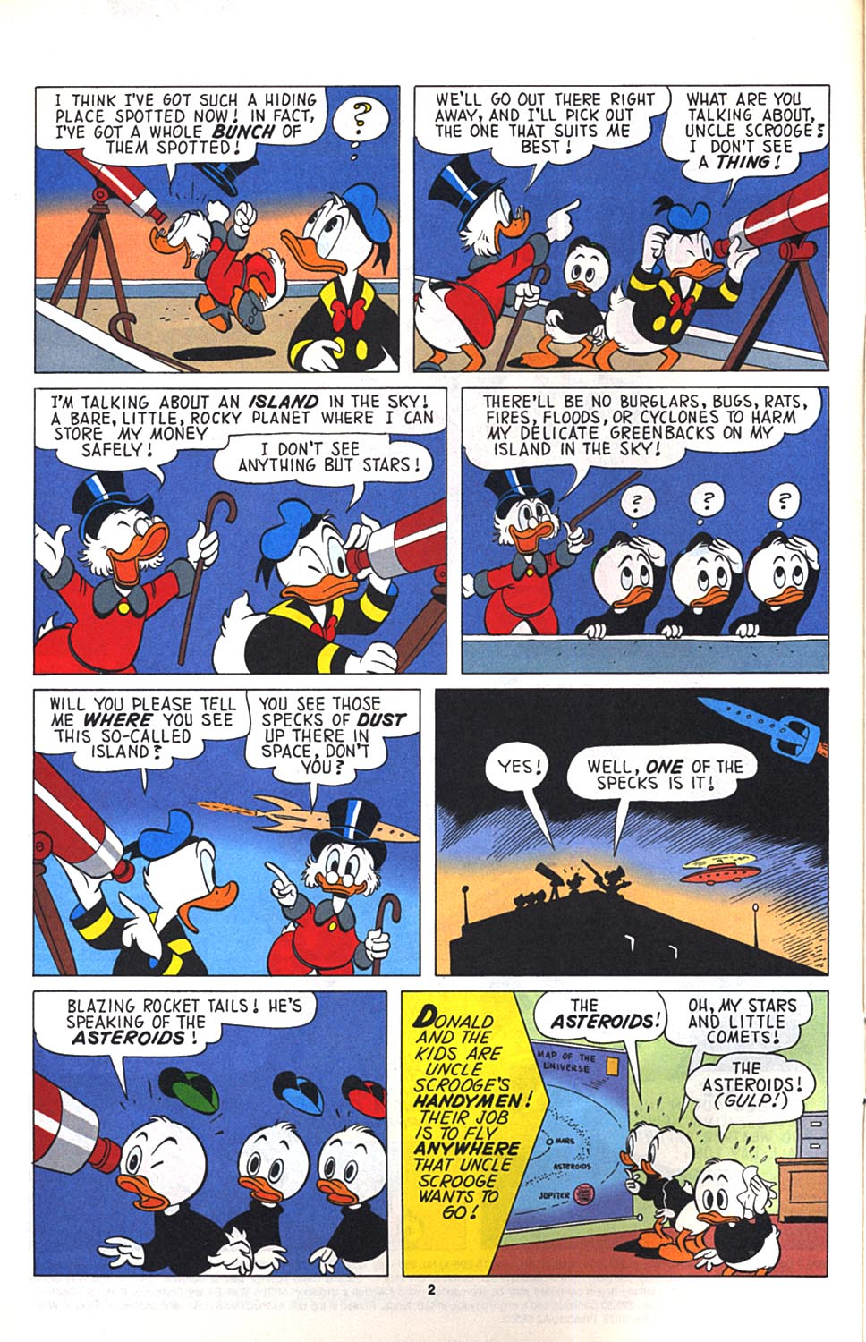 Read online Uncle Scrooge (1953) comic -  Issue #268 - 3