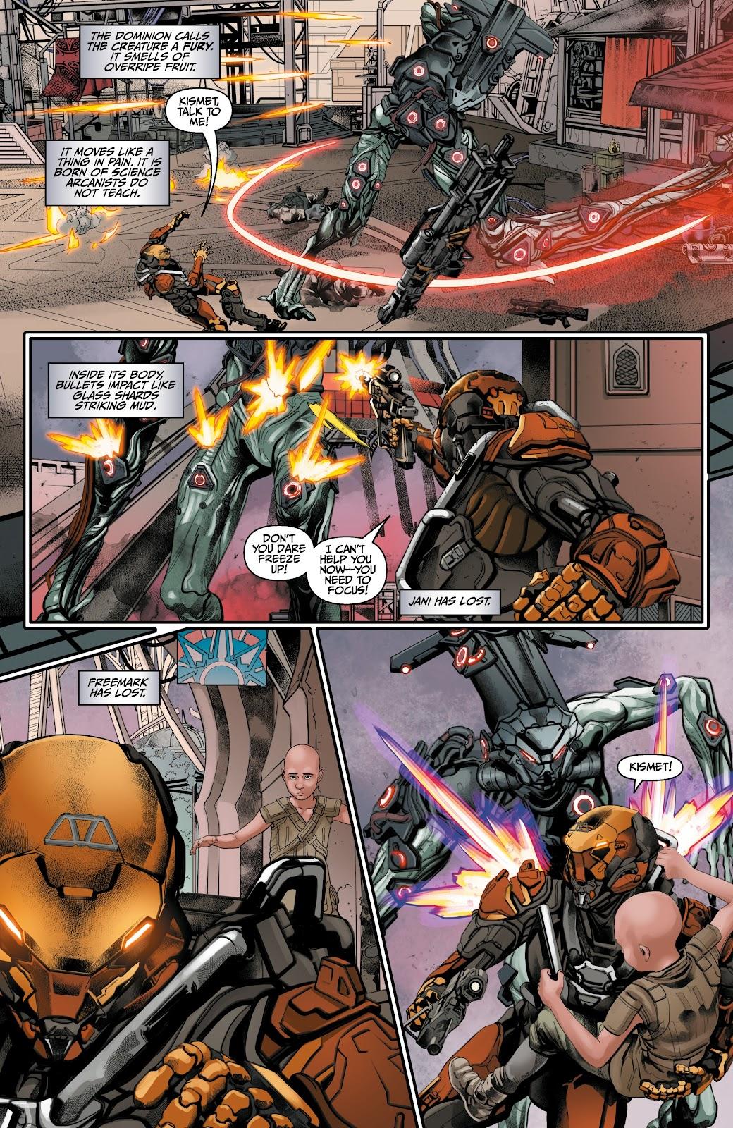 Read online Anthem comic -  Issue #3 - 11
