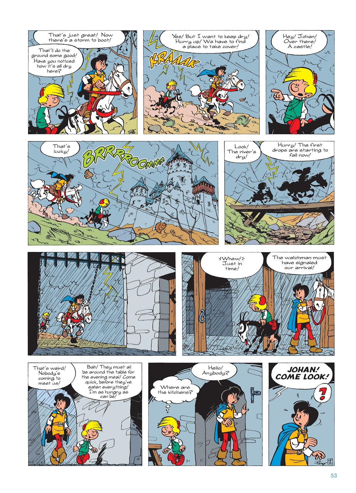 Read online The Smurfs comic -  Issue #17 - 53
