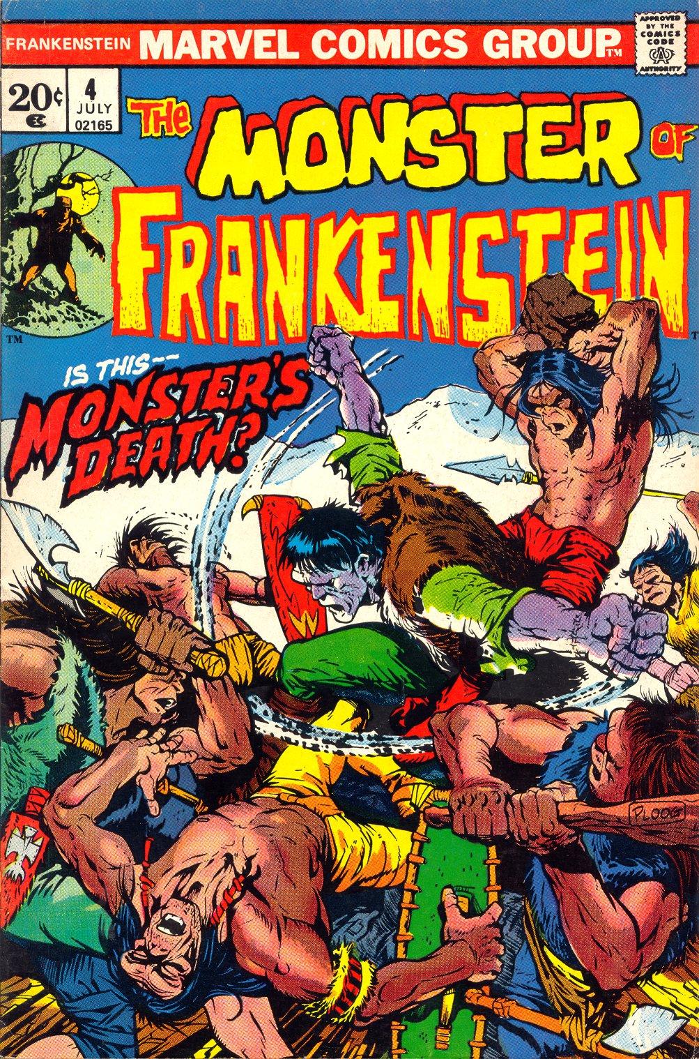 Frankenstein (1973) issue 4 - Page 1