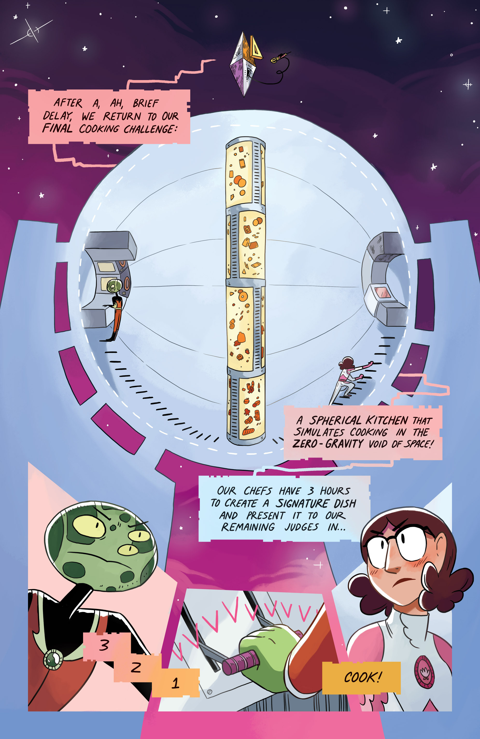 Read online Space Battle Lunchtime comic -  Issue #8 - 8